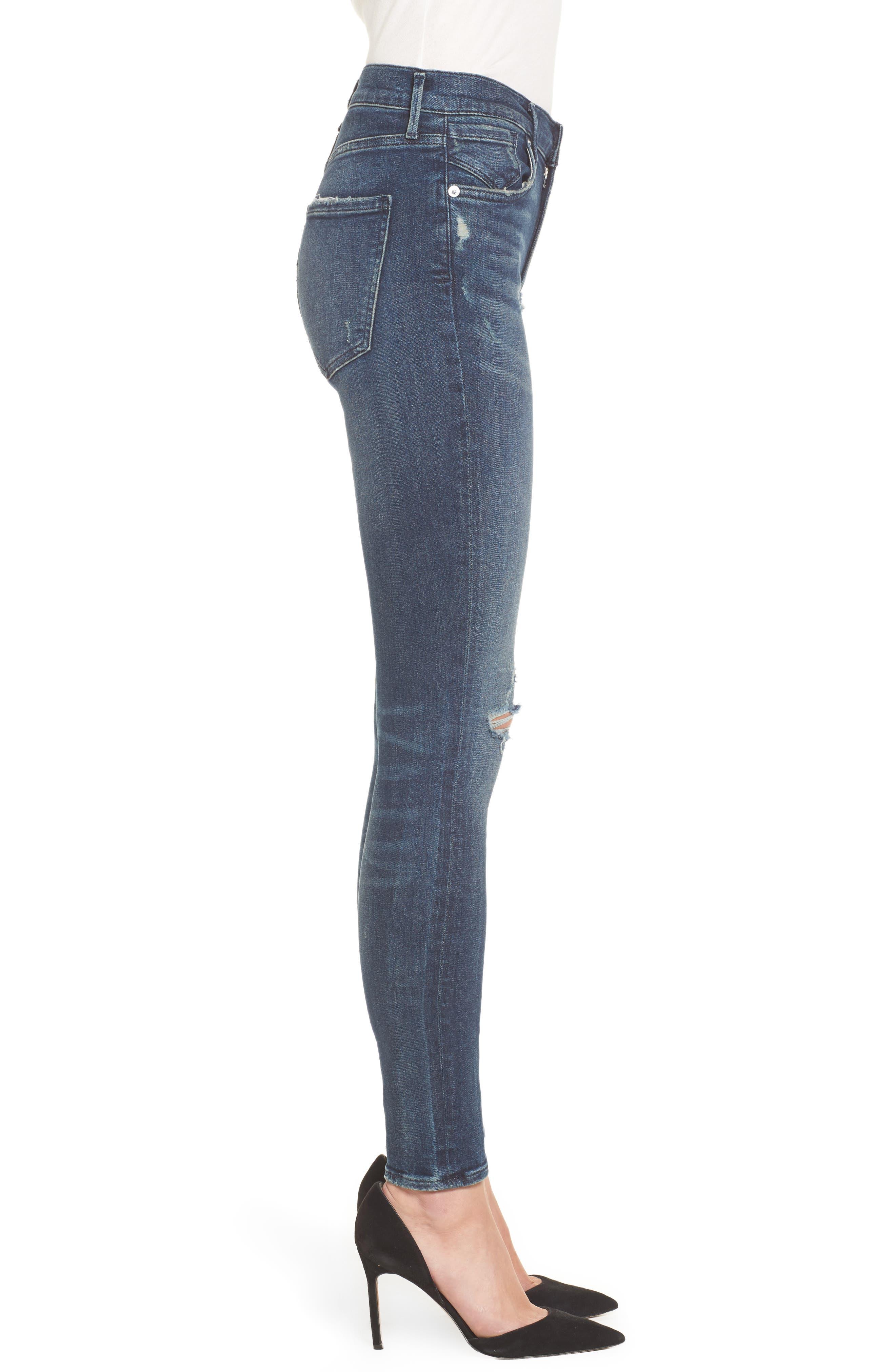 Sophie High Waist Skinny Jeans,                             Alternate thumbnail 6, color,