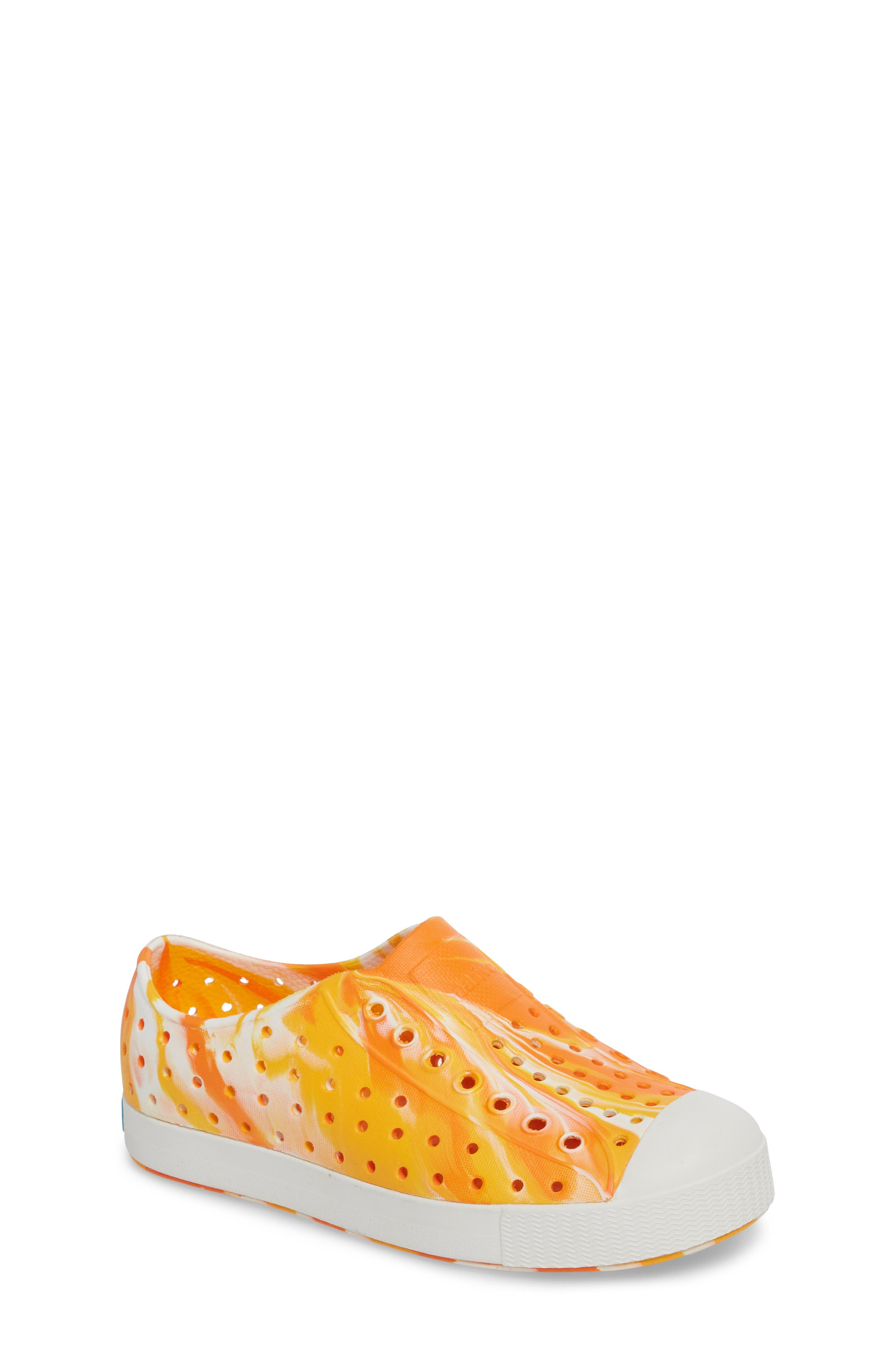 Jefferson - Marbled Perforated Slip-On,                             Main thumbnail 8, color,