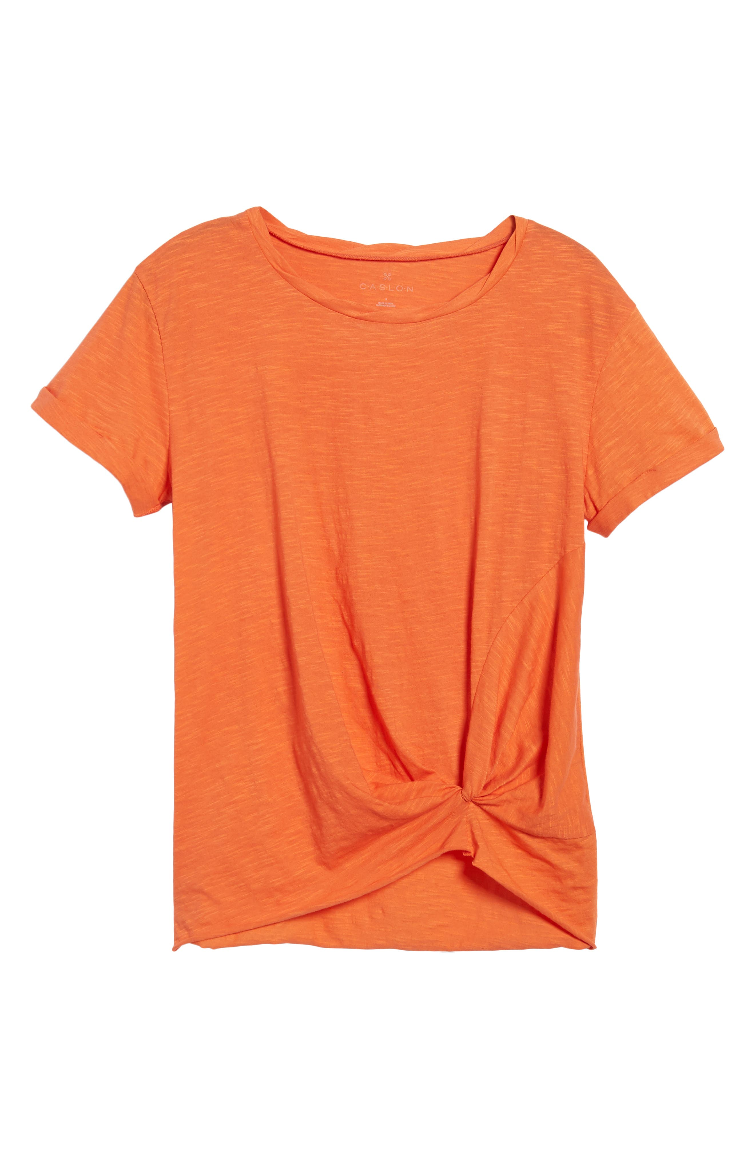 Knotted Tee,                             Alternate thumbnail 58, color,