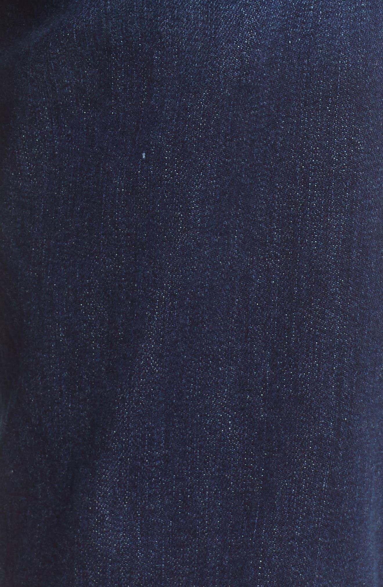 Transcend Vintage - Jax Denim Bermuda Shorts,                             Alternate thumbnail 6, color,                             400