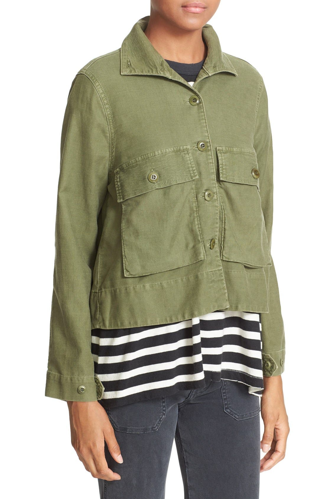 'The Swingy Army' Jacket,                             Alternate thumbnail 14, color,