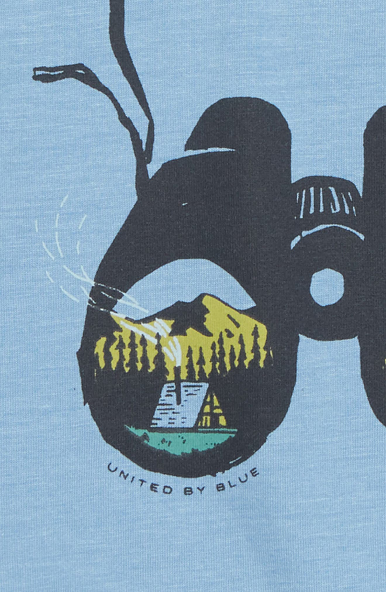 Little Explorer T-Shirt,                             Alternate thumbnail 2, color,                             RIVER BLUE