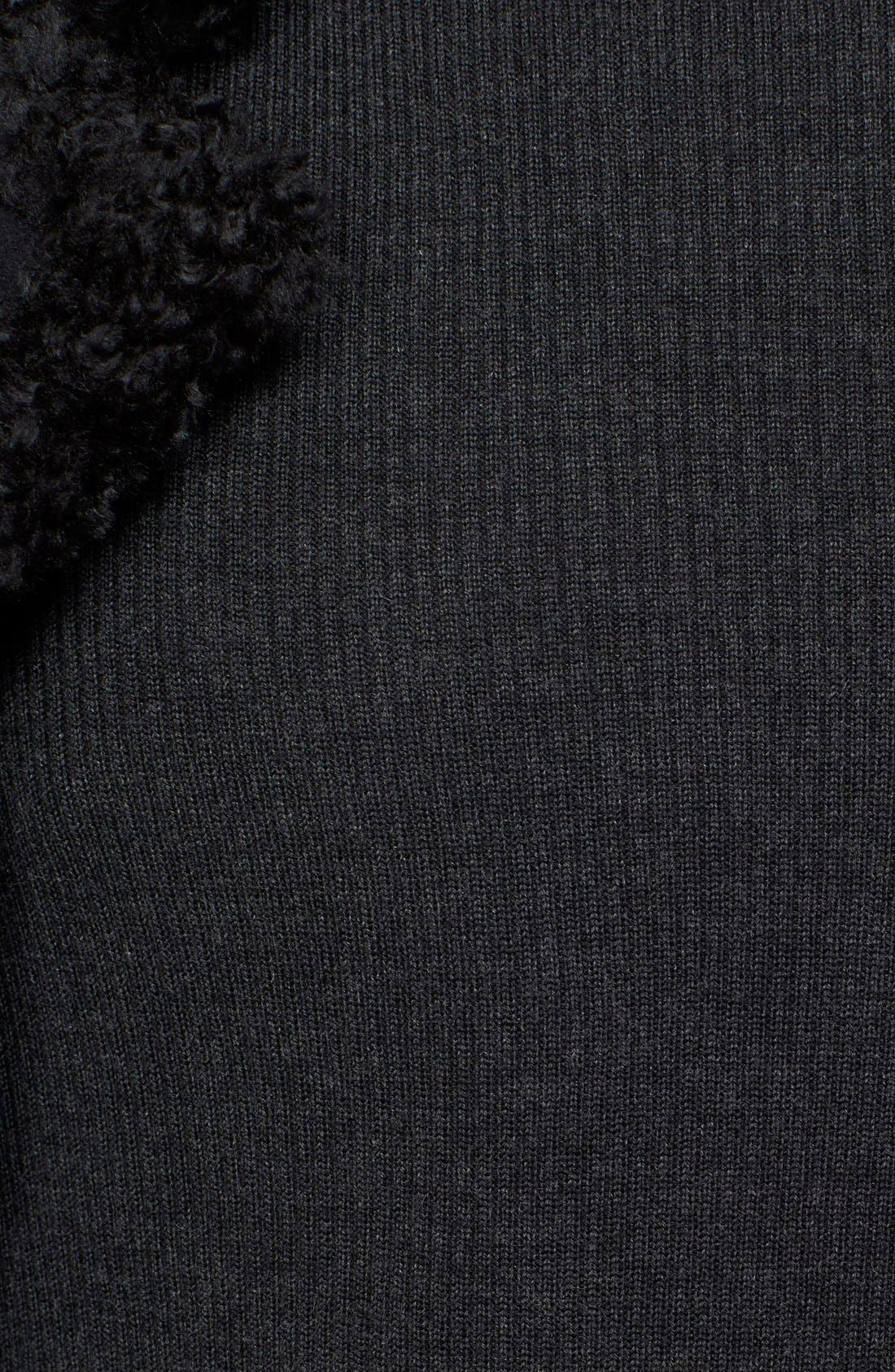 Collection Merino Wool & Silk Turtleneck,                             Alternate thumbnail 3, color,                             024