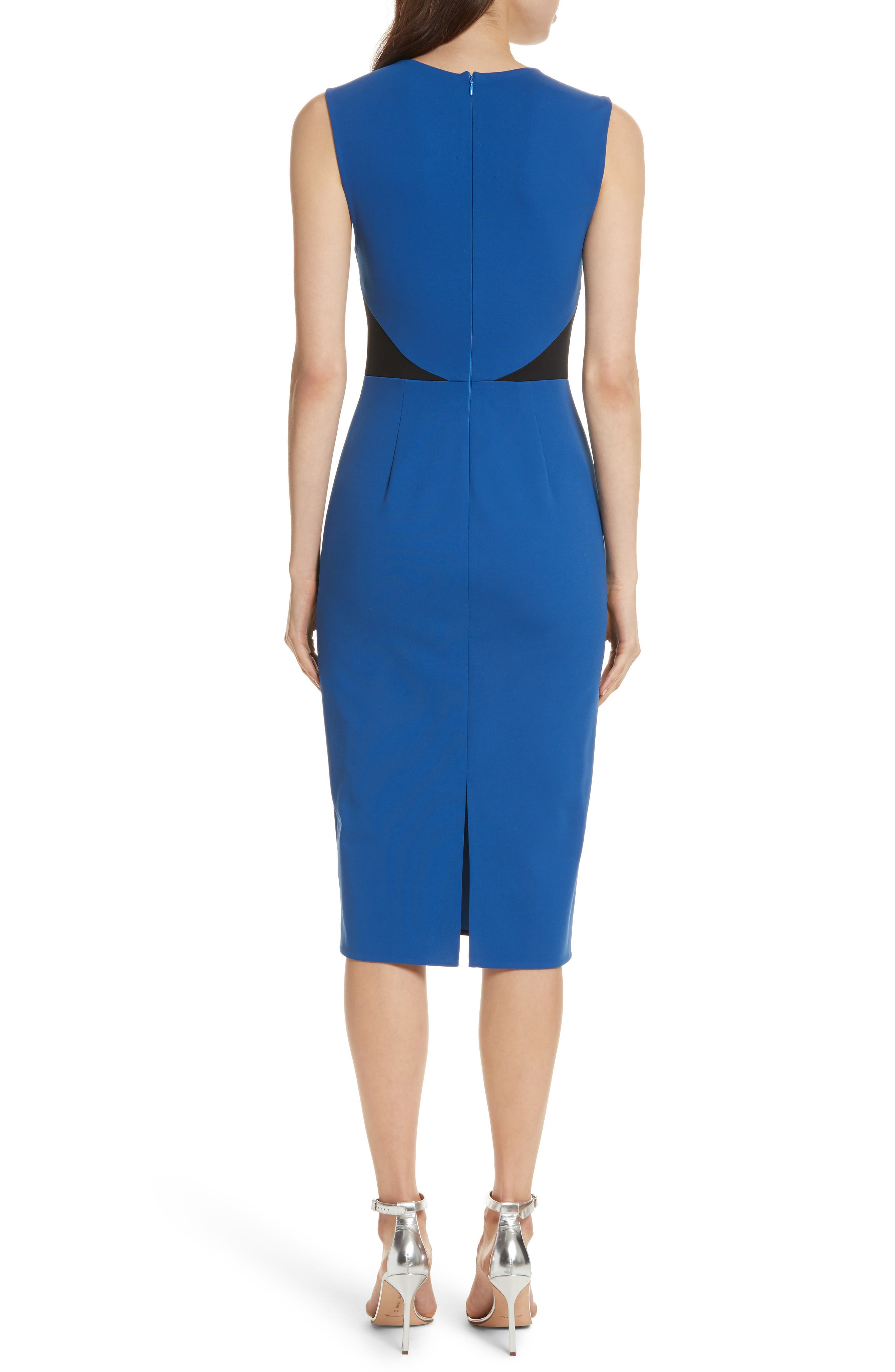 Colorblock Sheath Dress,                             Alternate thumbnail 2, color,