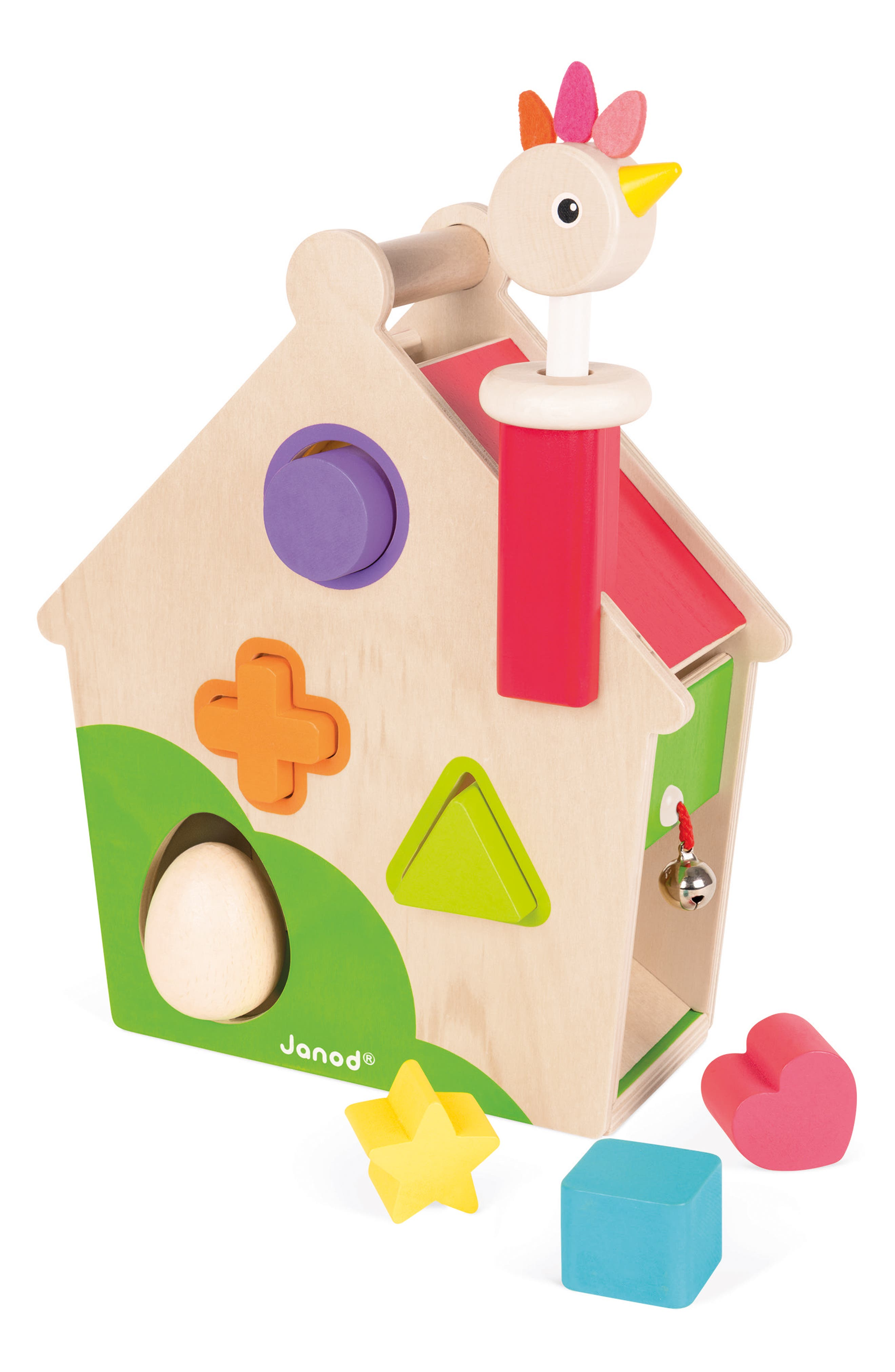 Wood Activity House,                             Alternate thumbnail 5, color,                             MULTI