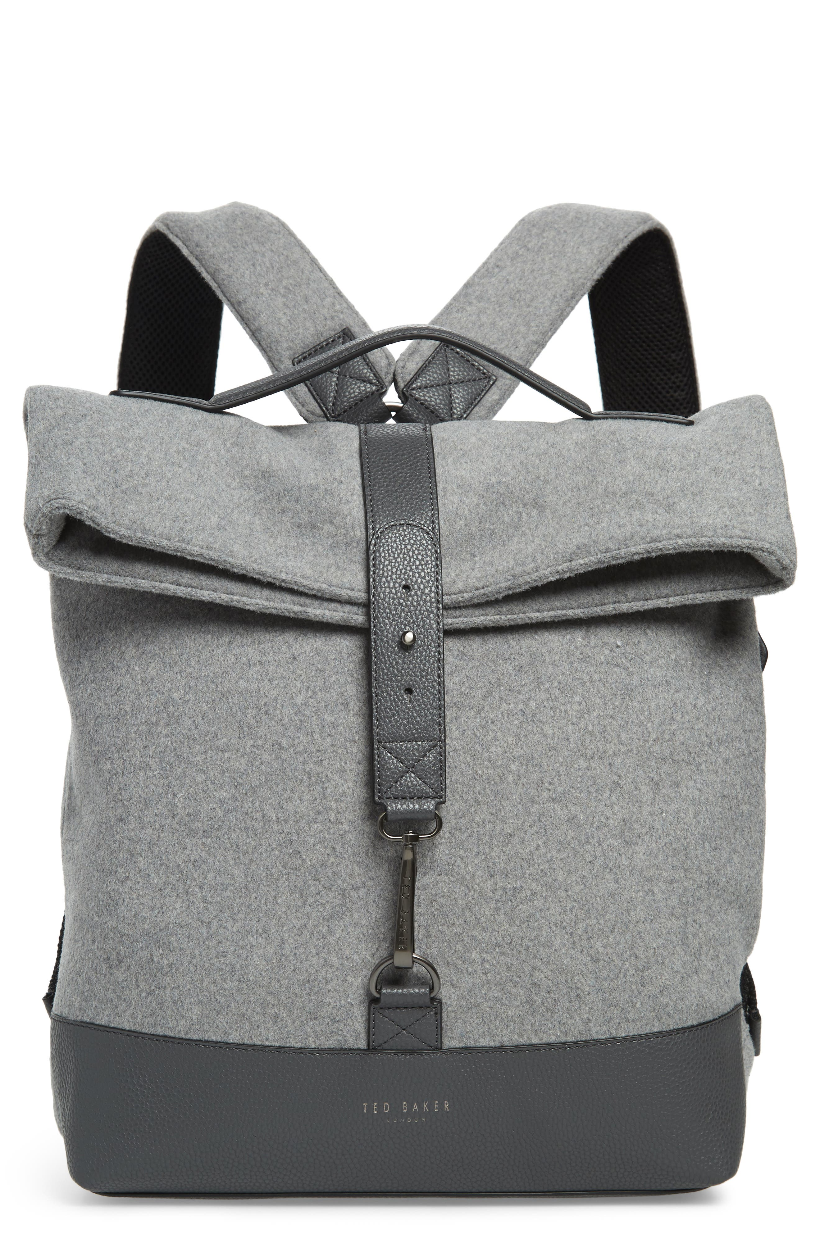 Cashed Backpack,                             Main thumbnail 1, color,                             GREY