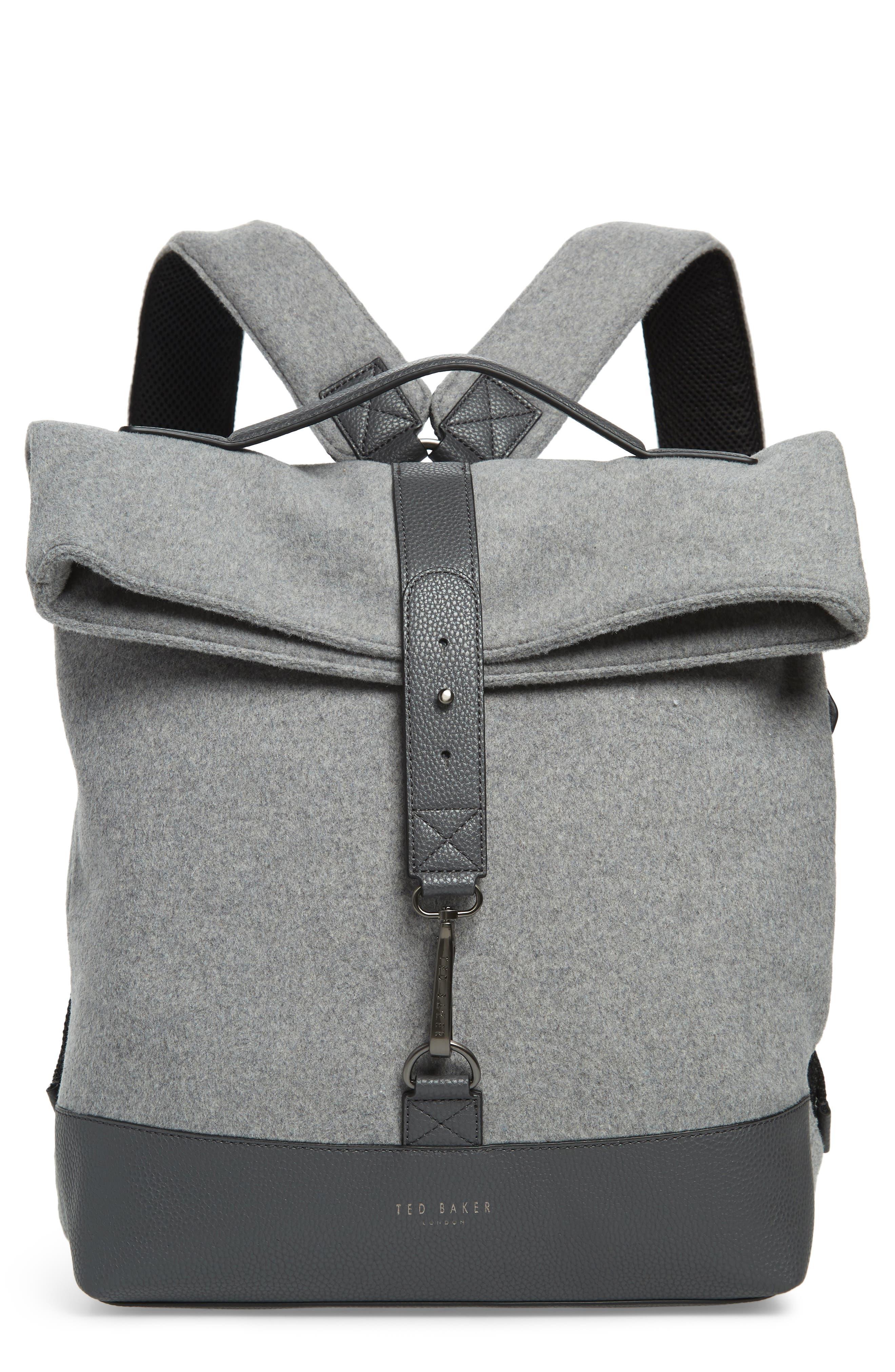 Cashed Backpack,                         Main,                         color, GREY