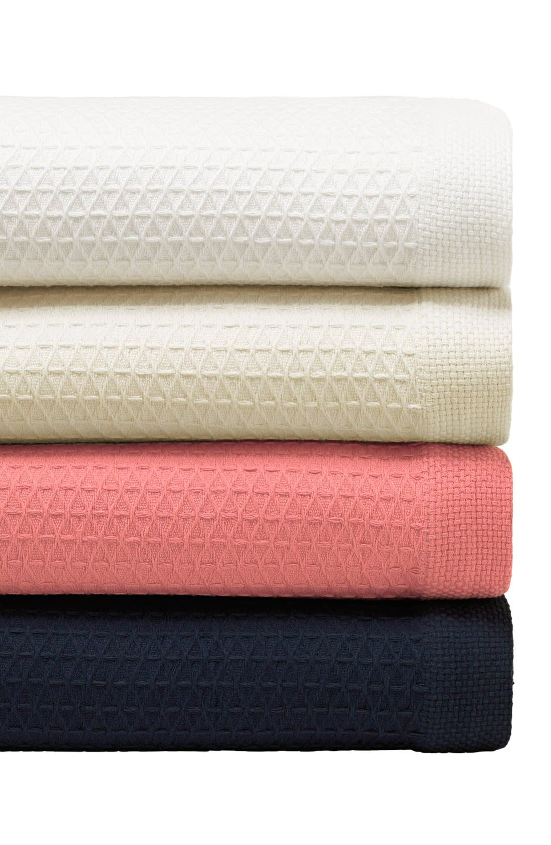 'Baird' Cotton Blanket,                             Alternate thumbnail 2, color,                             WHITE