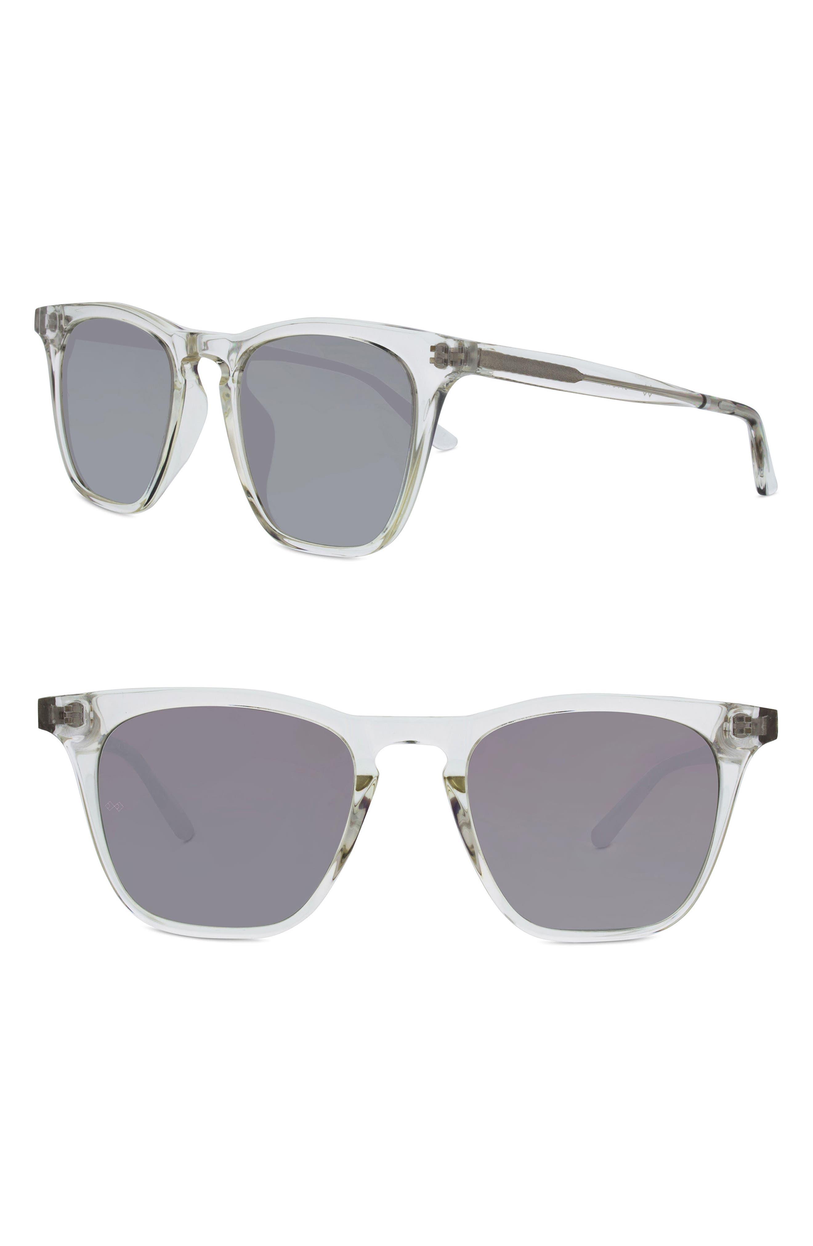 Rocket 88 50mm Square Sunglasses,                             Main thumbnail 2, color,