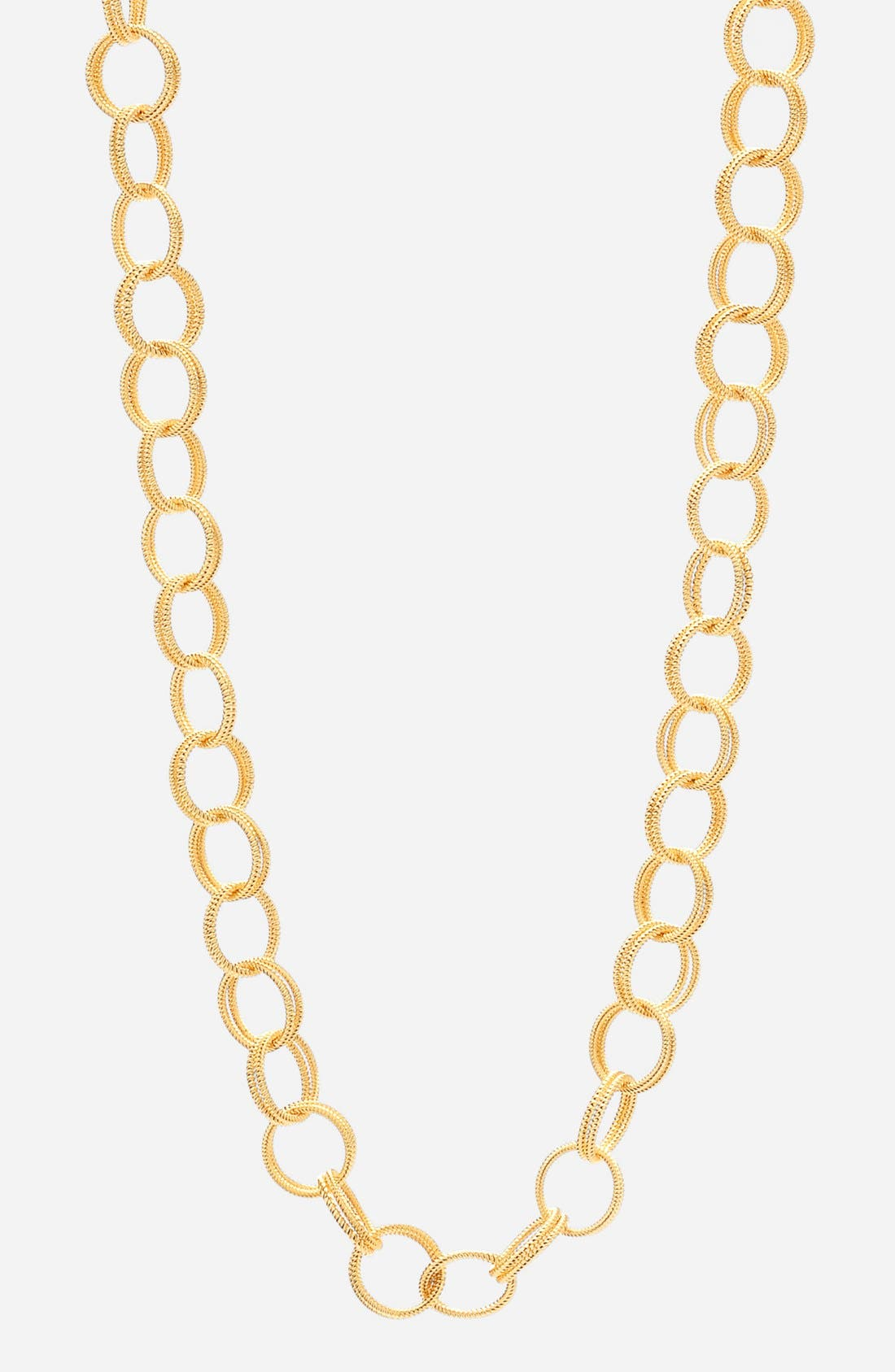 Textured Chain Link Necklace,                             Alternate thumbnail 2, color,                             710