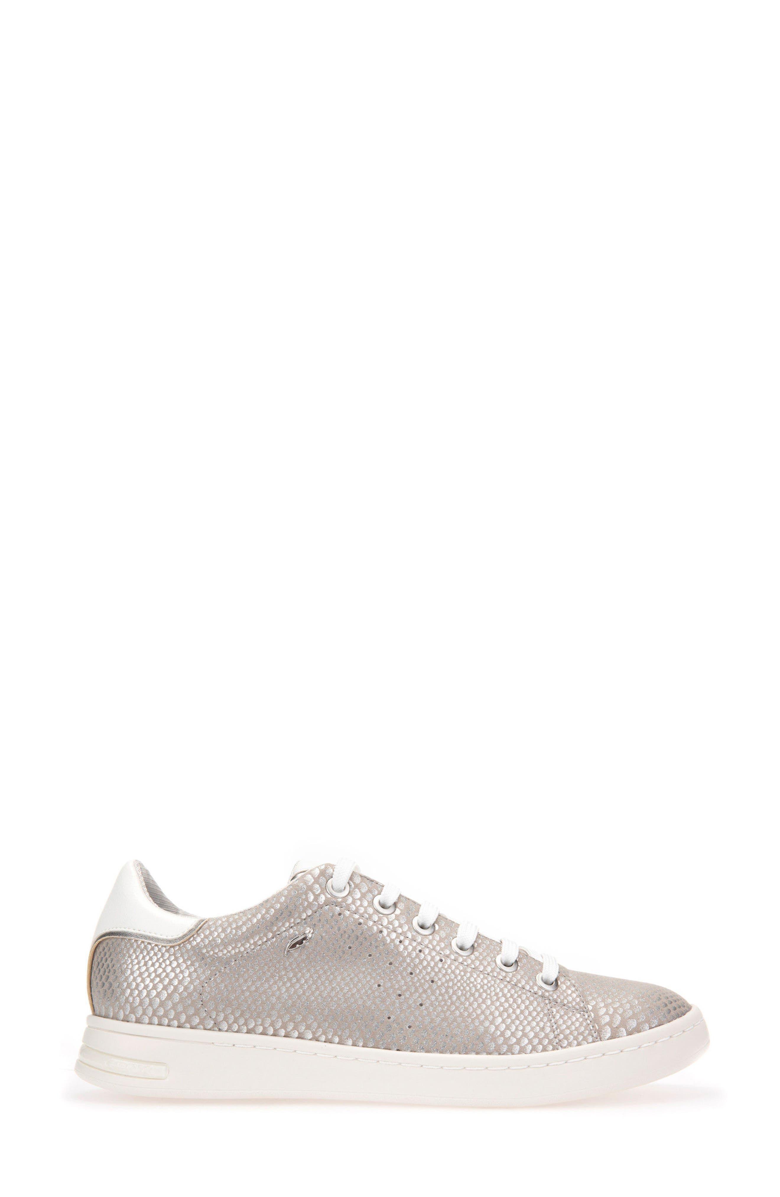 Jaysen Sneaker,                             Alternate thumbnail 3, color,                             SILVER FABRIC