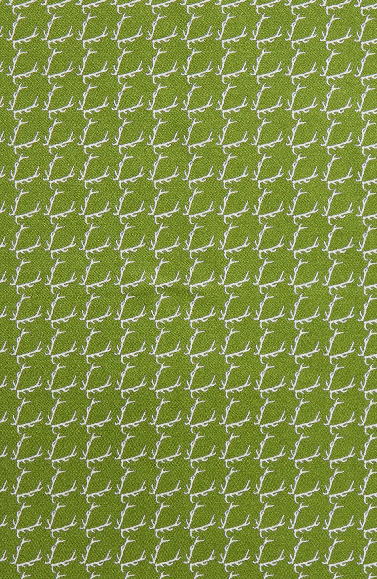 Buckwild Silk Pocket Square,                             Alternate thumbnail 3, color,                             310
