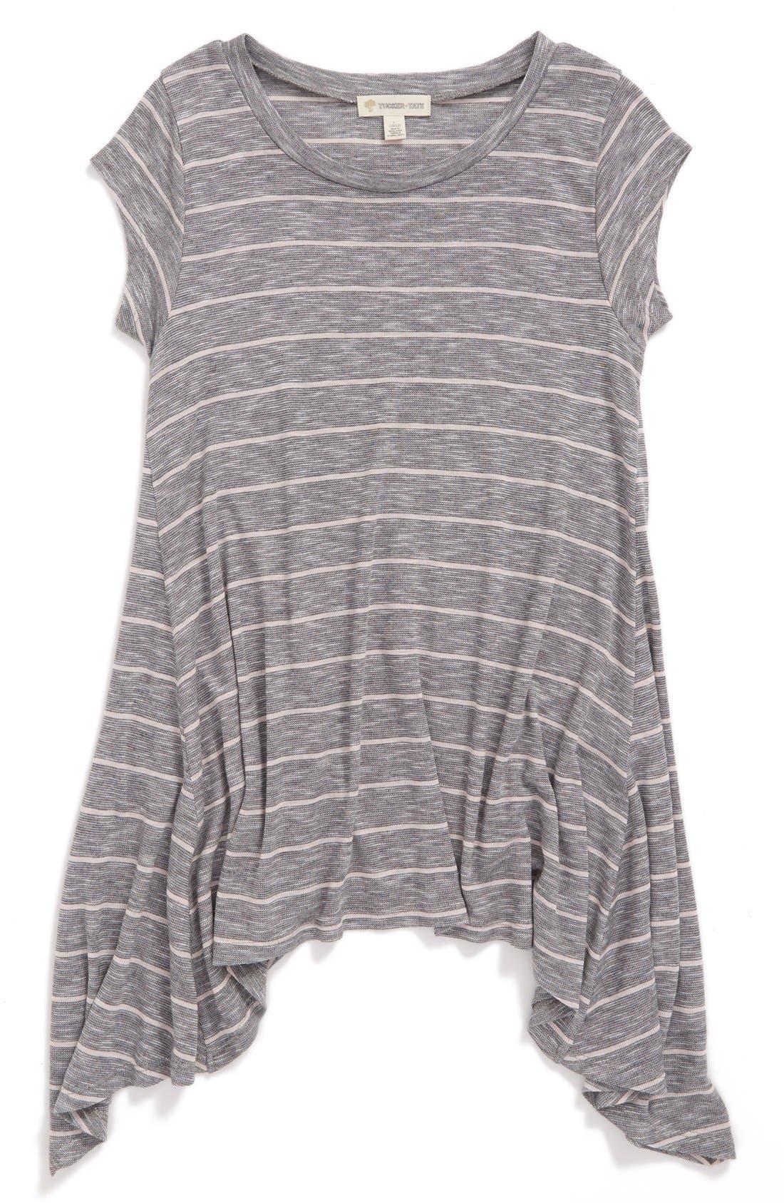 Stripe Tee,                         Main,                         color, 021