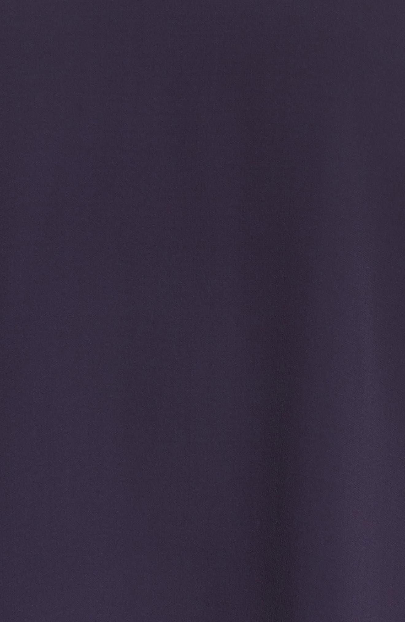 Ruffled Sleeve Silk Top,                             Alternate thumbnail 16, color,