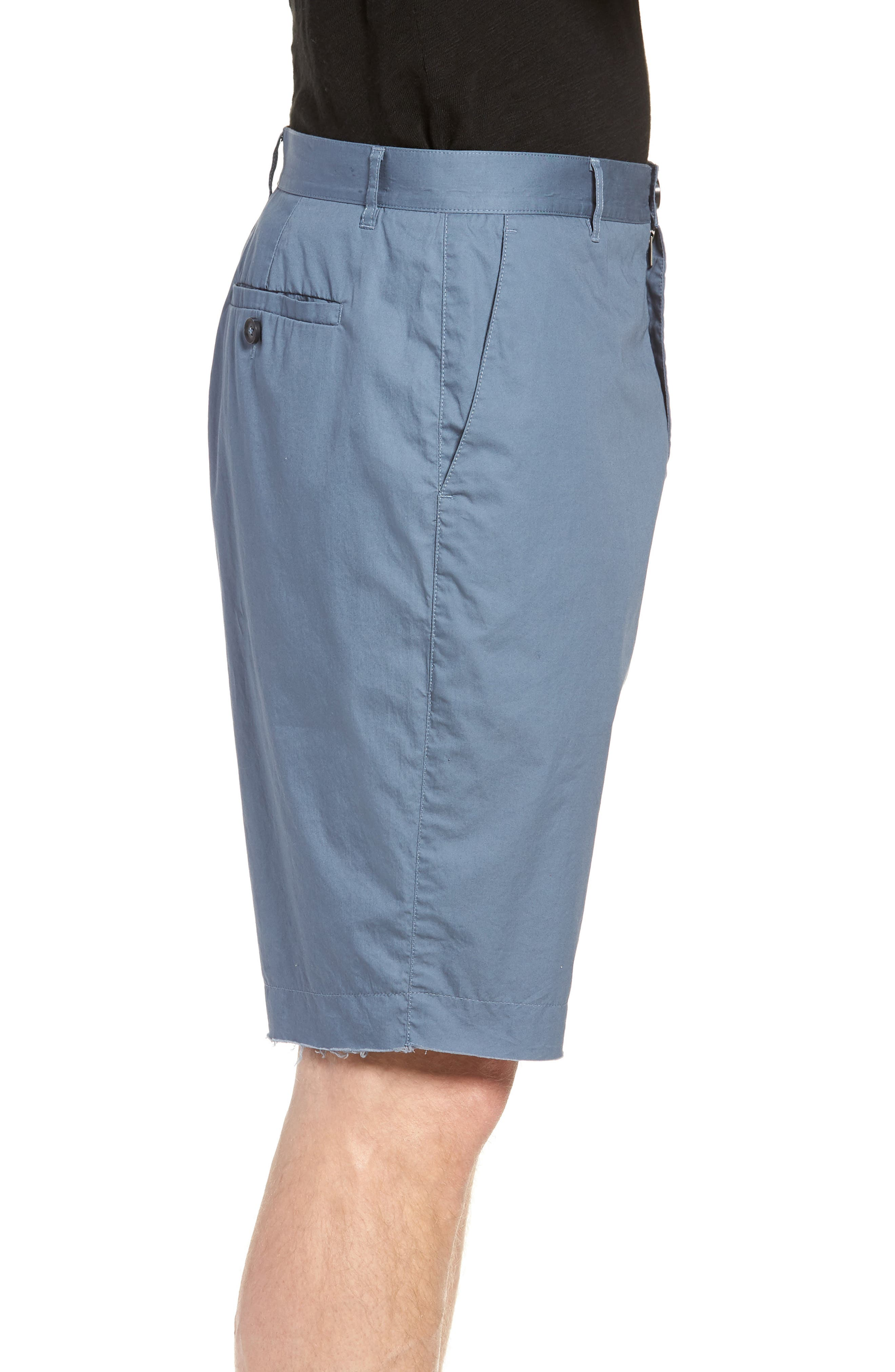 Poplin Cotton Shorts,                             Alternate thumbnail 3, color,                             425