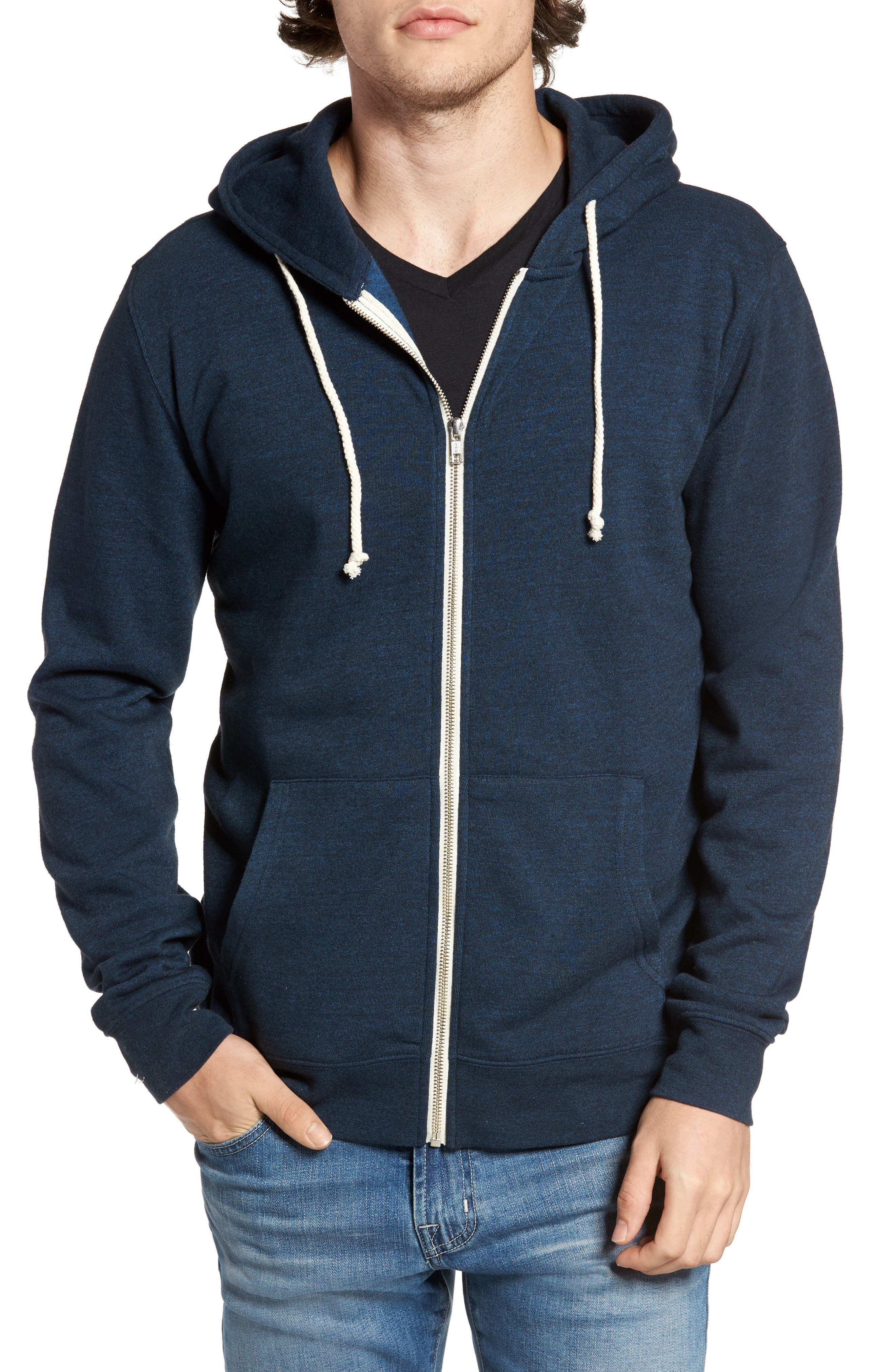 Threads for Thought Trim Fit Heathered Hoodie,                             Main thumbnail 24, color,