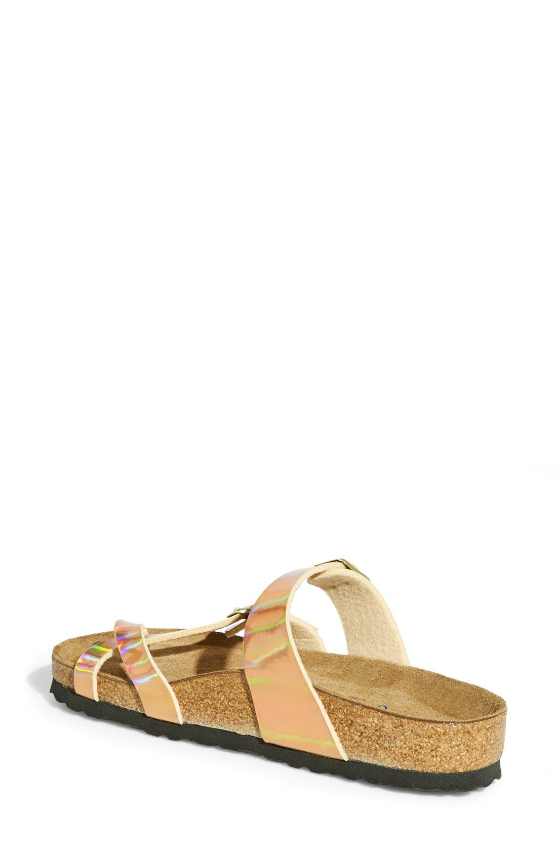 BIRKENSTOCK,                             'Mayari' Birko-Flor<sup>™</sup> Soft Footbed Sandal,                             Alternate thumbnail 4, color,                             750