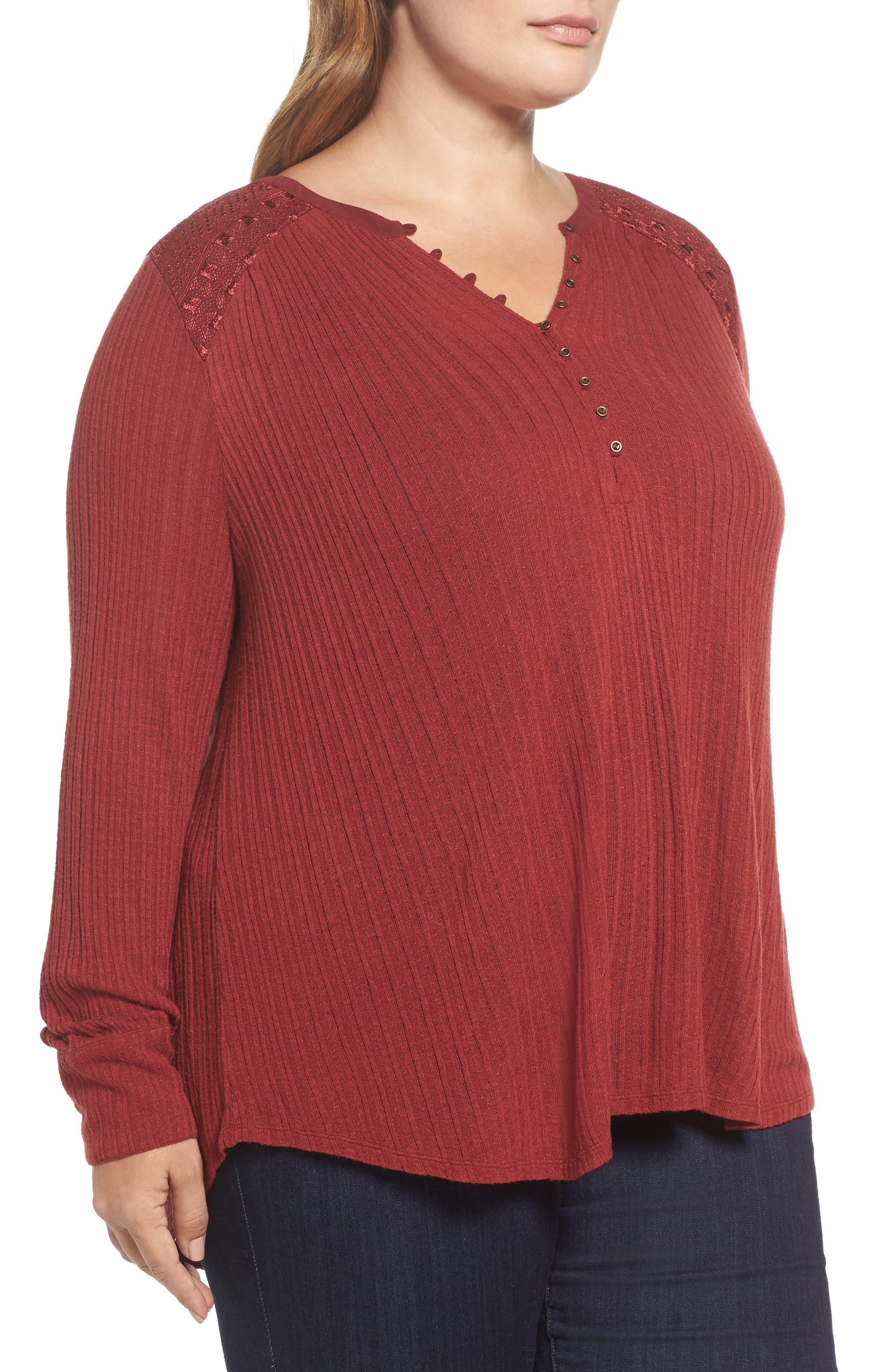 Drop Needle Ribbed Pullover,                             Alternate thumbnail 5, color,