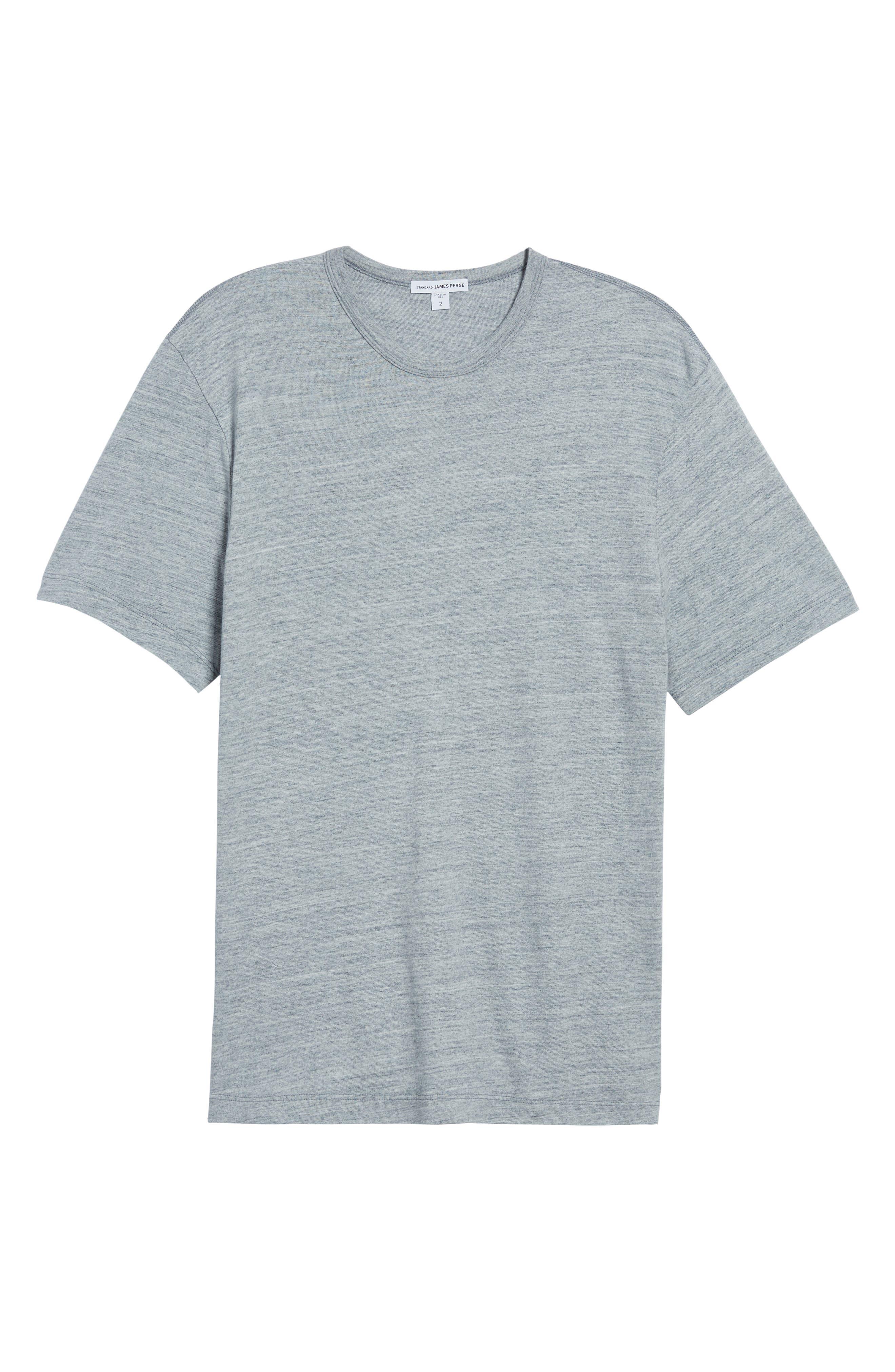 Regular Fit Top Dyed Crewneck T-Shirt,                             Alternate thumbnail 17, color,