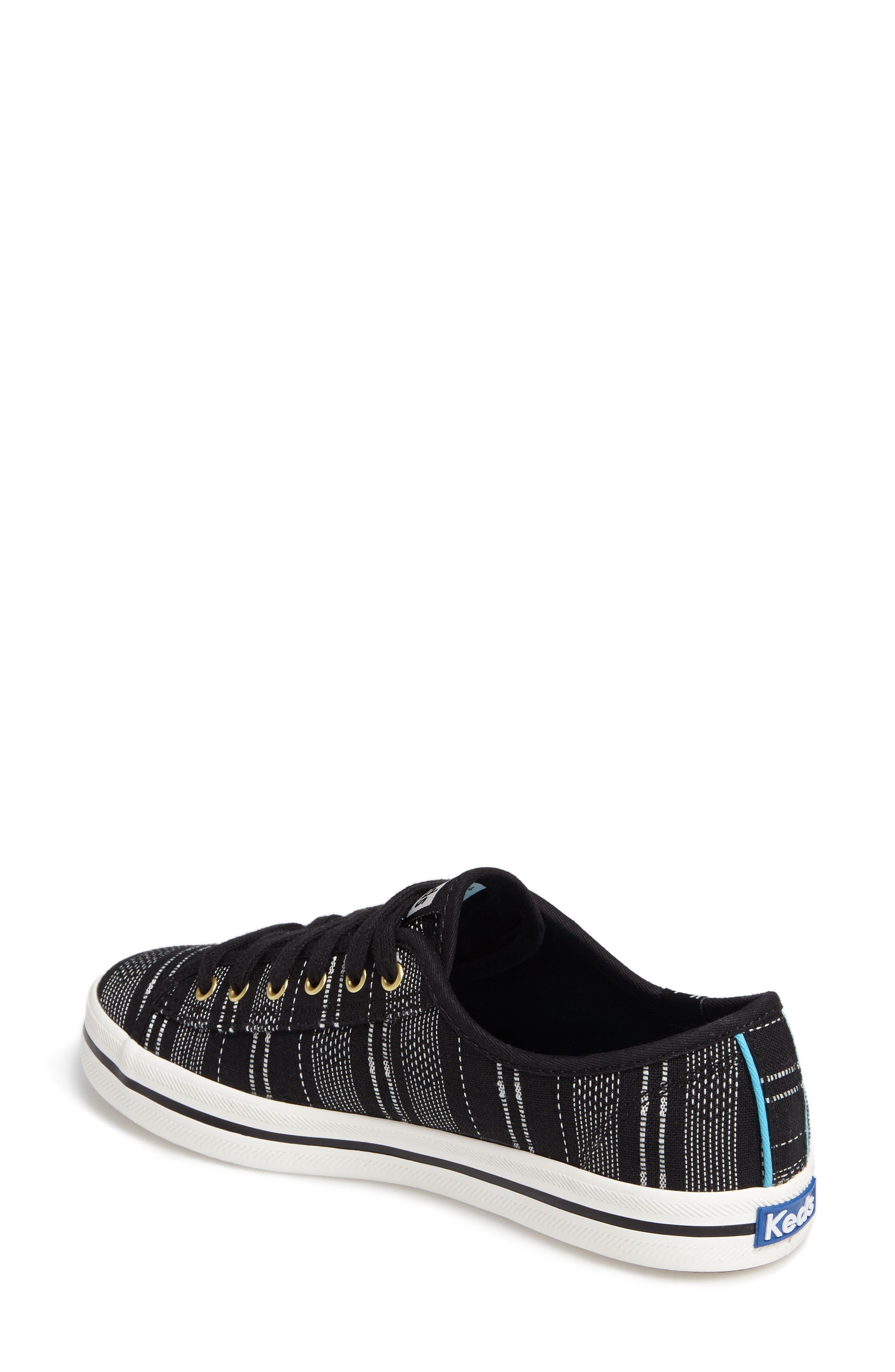 Kickstart Baja Stripe Sneaker,                             Alternate thumbnail 2, color,                             001