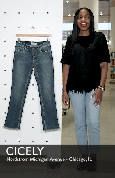 We the Free by Free People Austin Raw Hem Ankle Jeans, sales video thumbnail
