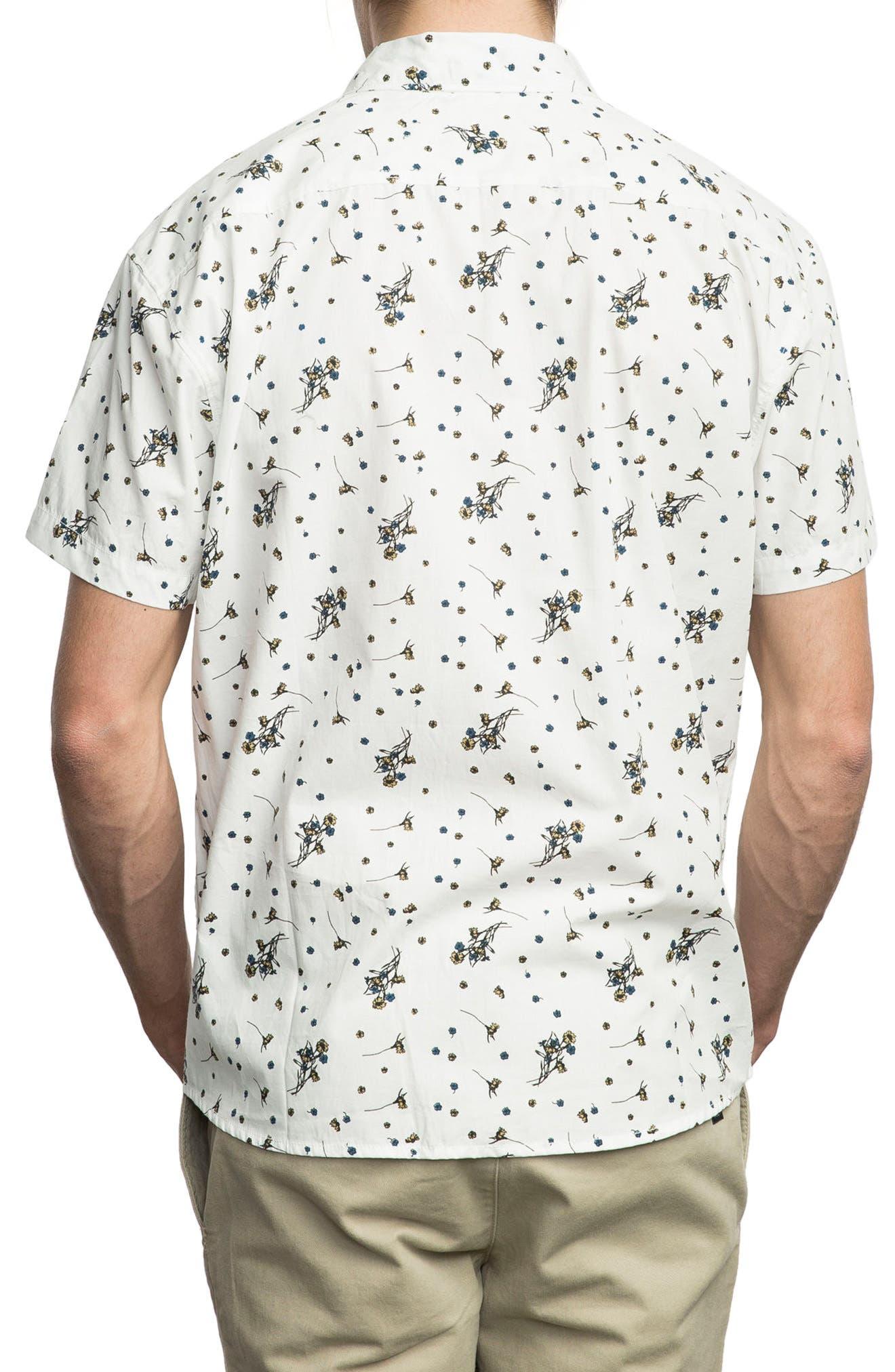 Print Woven Shirt,                             Alternate thumbnail 5, color,