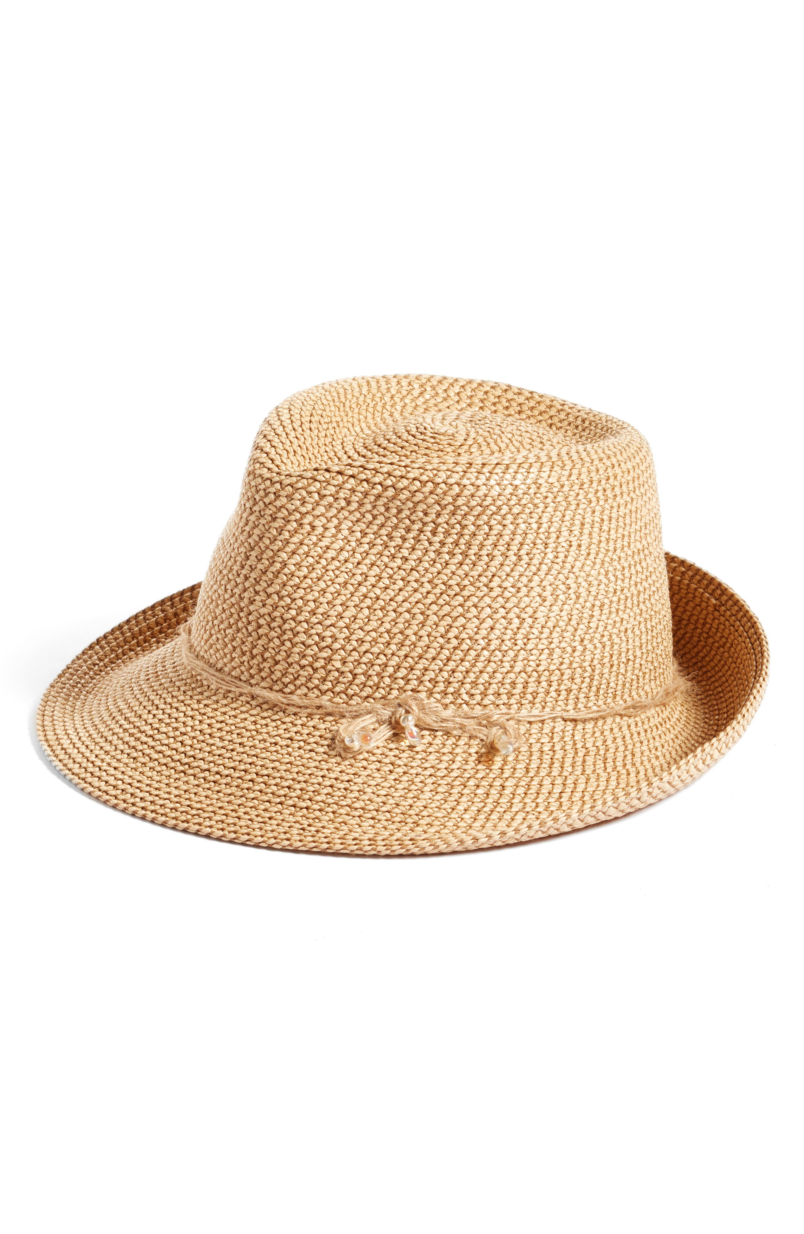 Mustique Squishee<sup>®</sup> Fedora,                             Main thumbnail 1, color,
