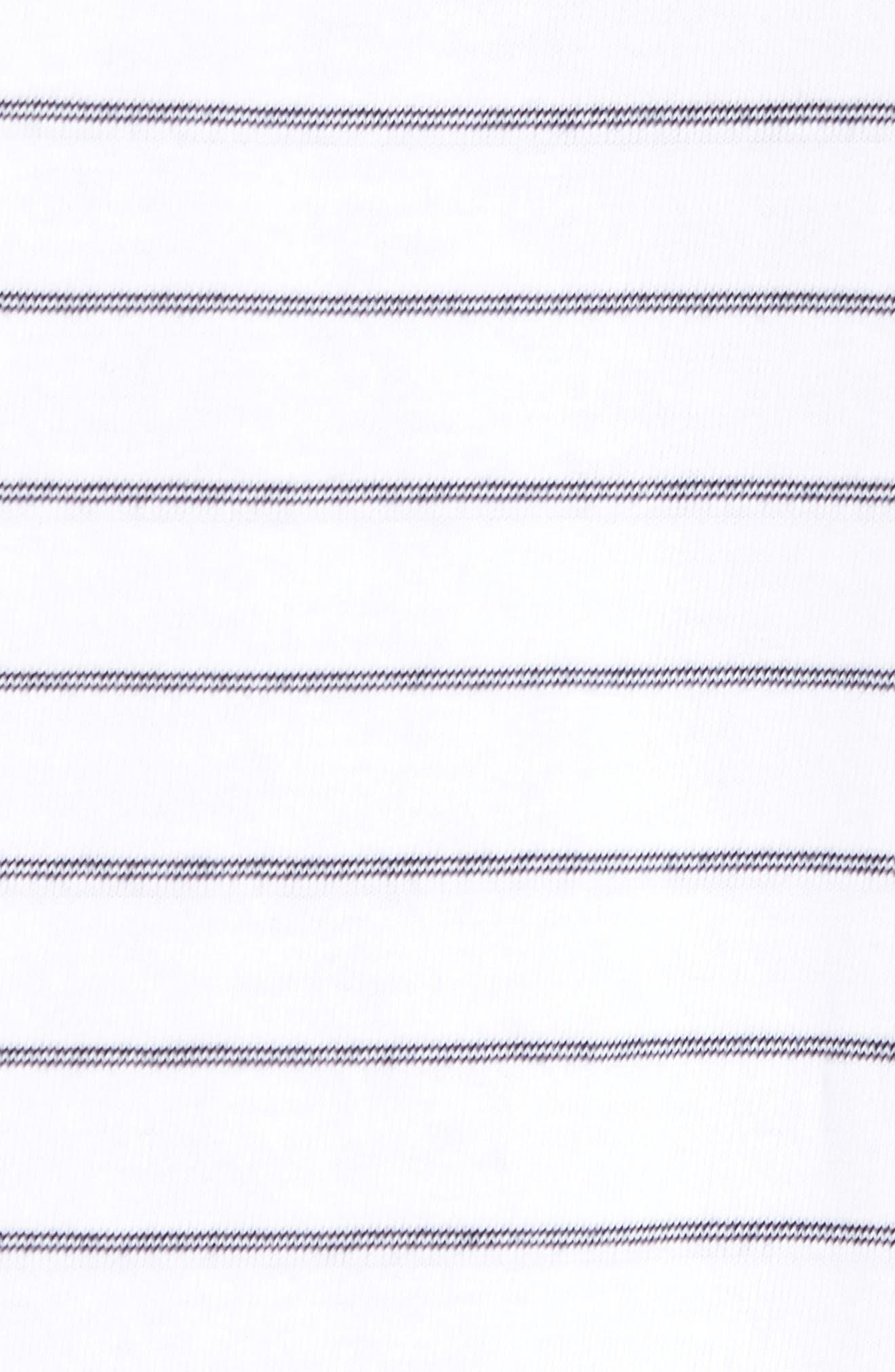 Relaxed Stripe Henley,                             Alternate thumbnail 9, color,