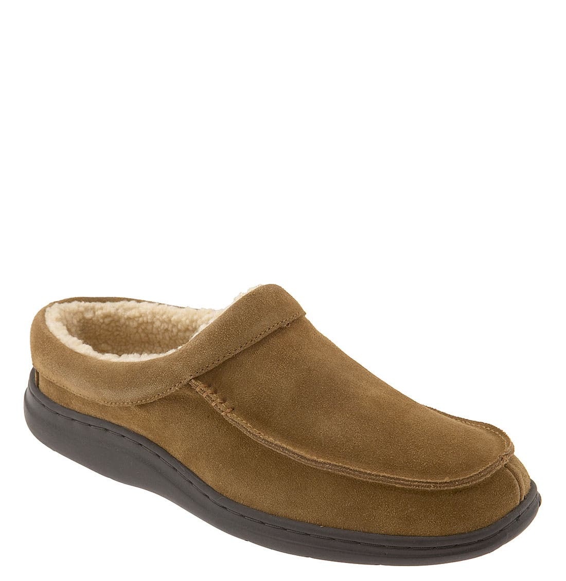'Edmonton' Slipper,                             Main thumbnail 1, color,                             TAN