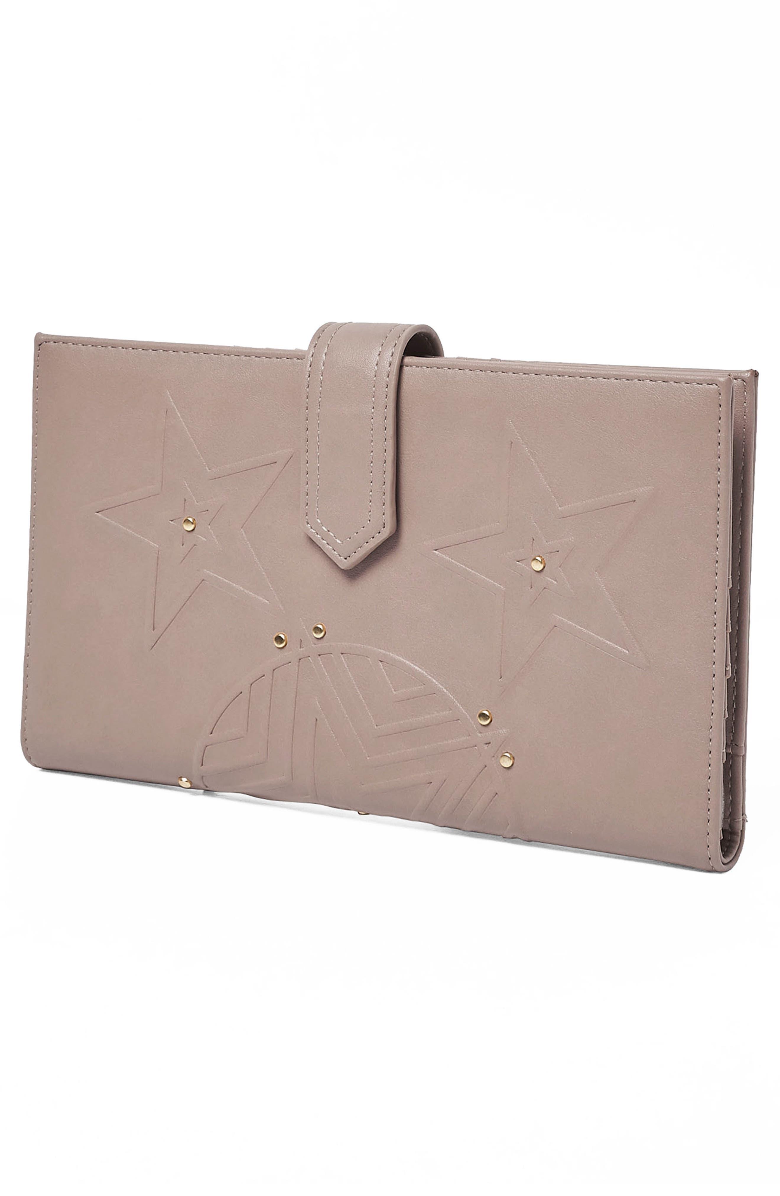 Starstruck Vegan Leather Wallet,                             Alternate thumbnail 8, color,