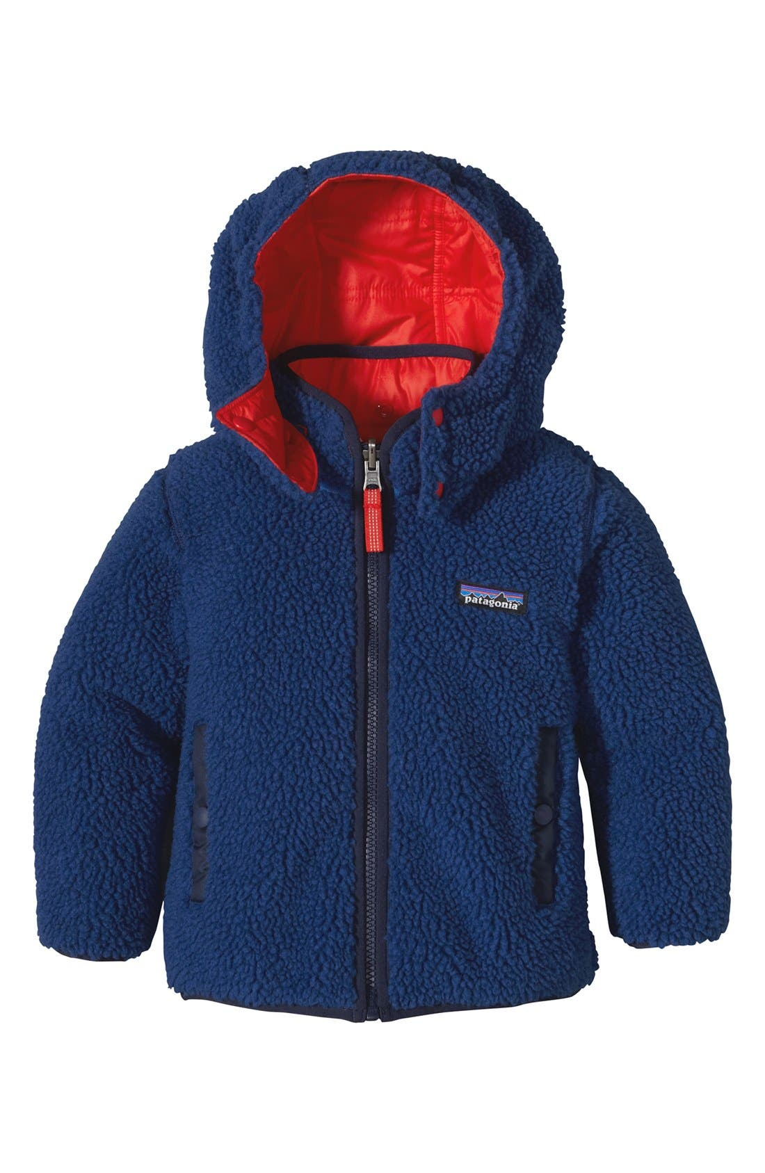 'Tribbles' Reversible Water Resistant Snow Jacket,                             Alternate thumbnail 10, color,