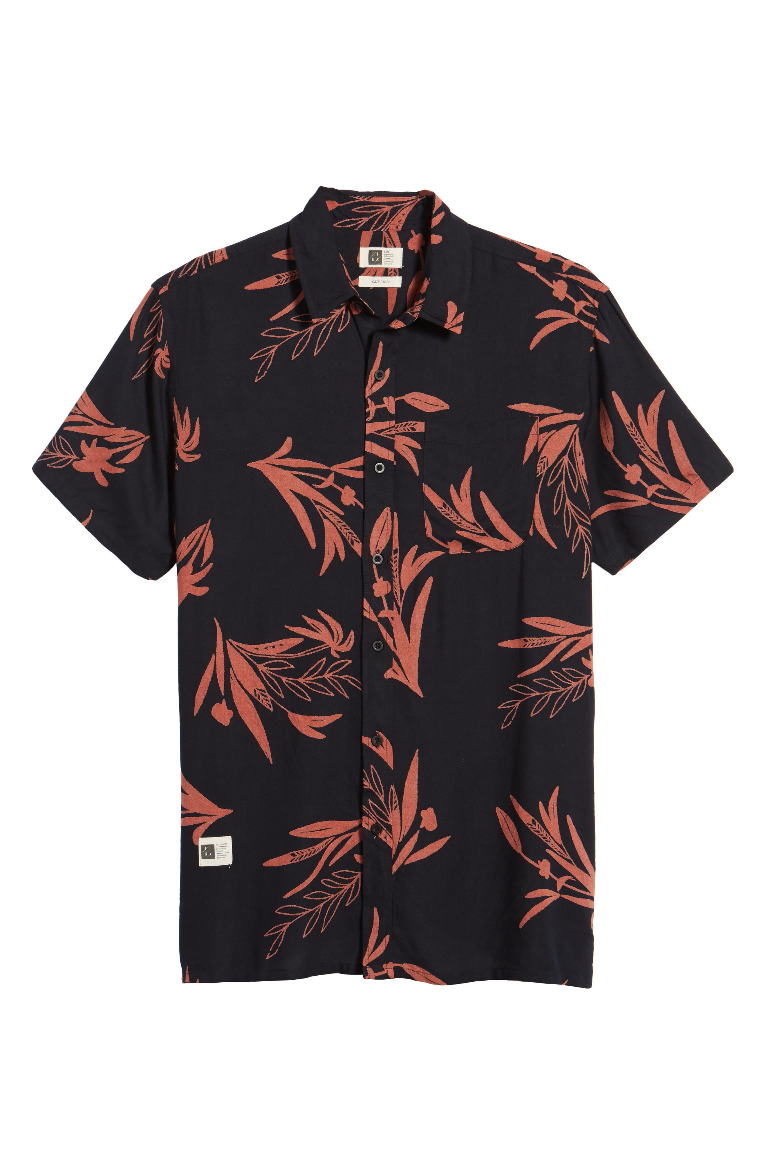 Simmer Short Sleeve Shirt,                             Alternate thumbnail 6, color,                             001