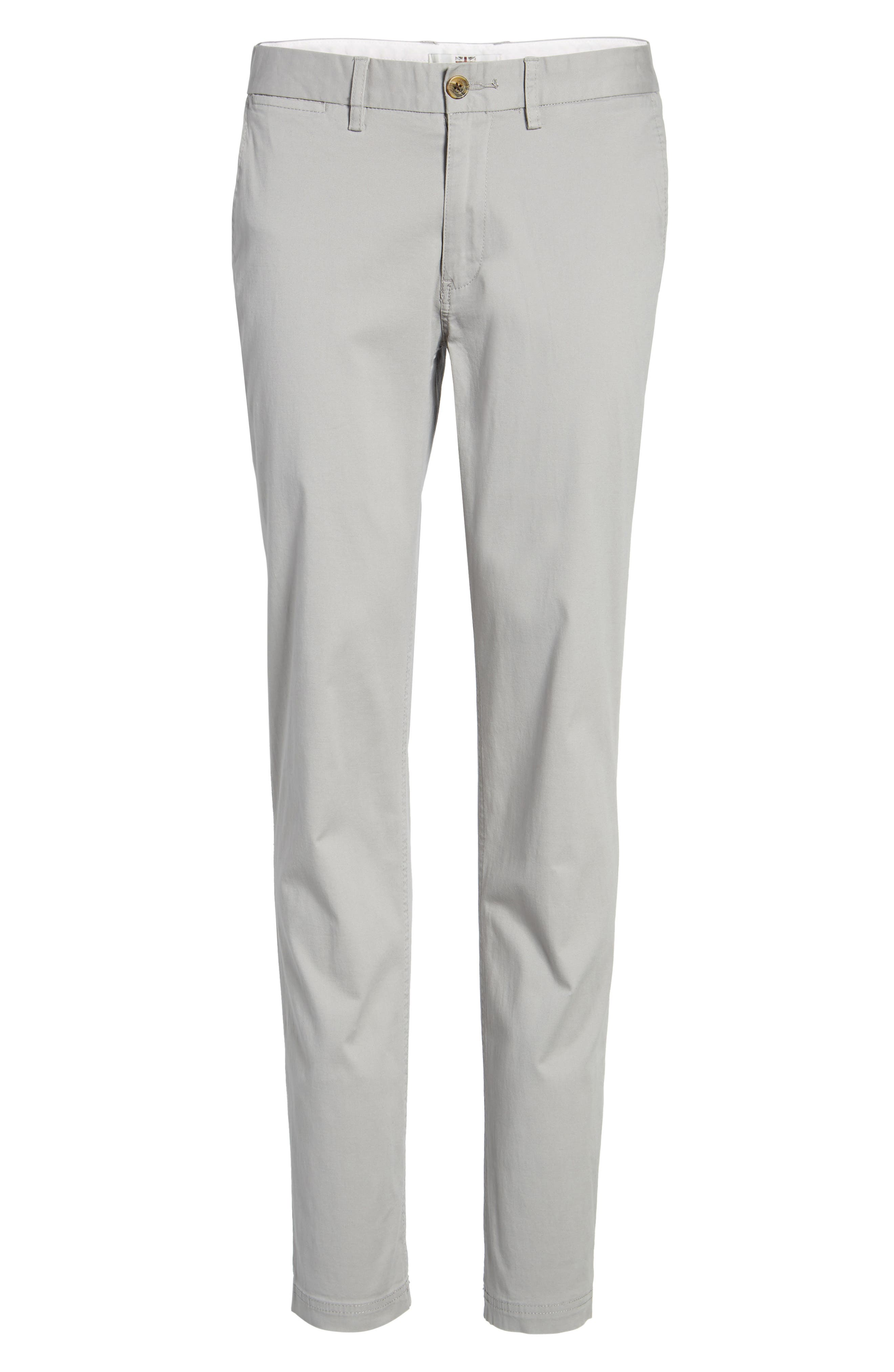 Slim Fit Stretch Chinos,                             Alternate thumbnail 65, color,