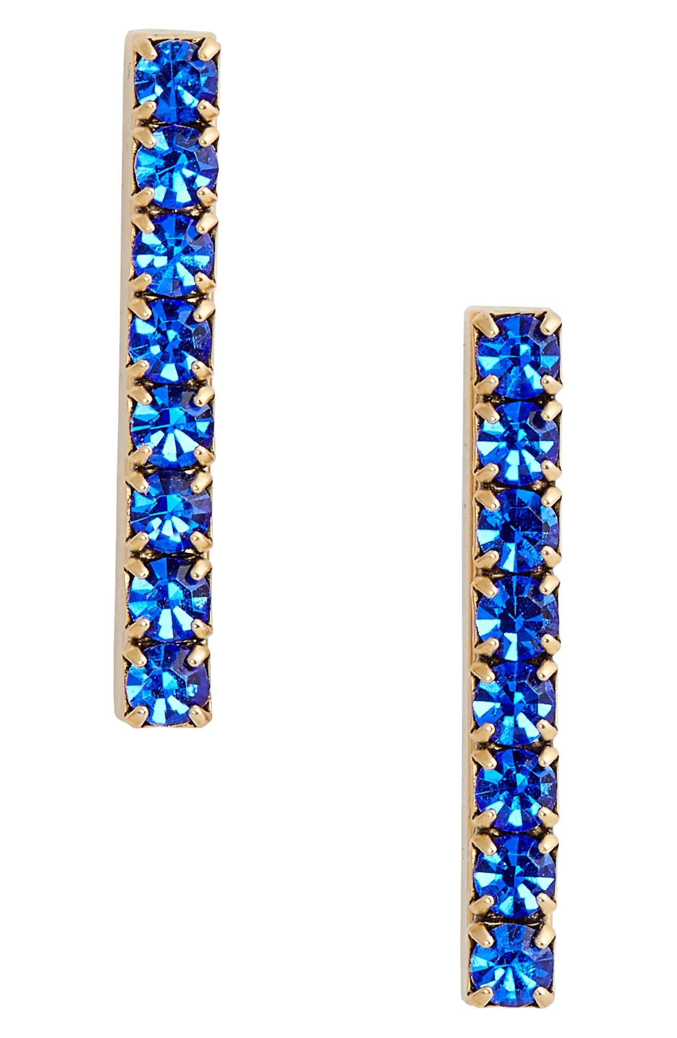 Paige Bar Stud Earrings,                             Main thumbnail 3, color,
