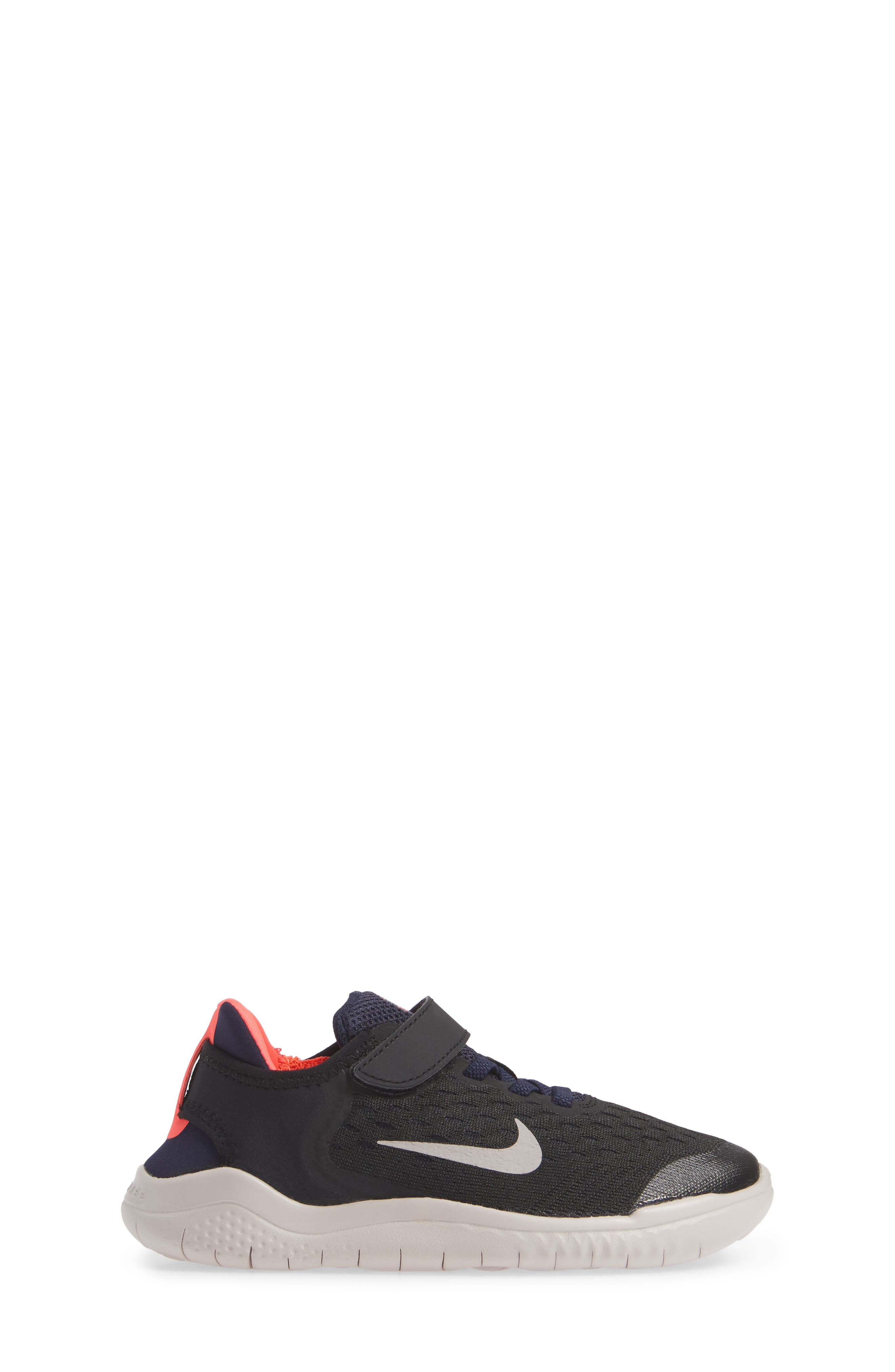 Free RN Running Shoe,                             Alternate thumbnail 3, color,                             BLACK MOON PARTICLE