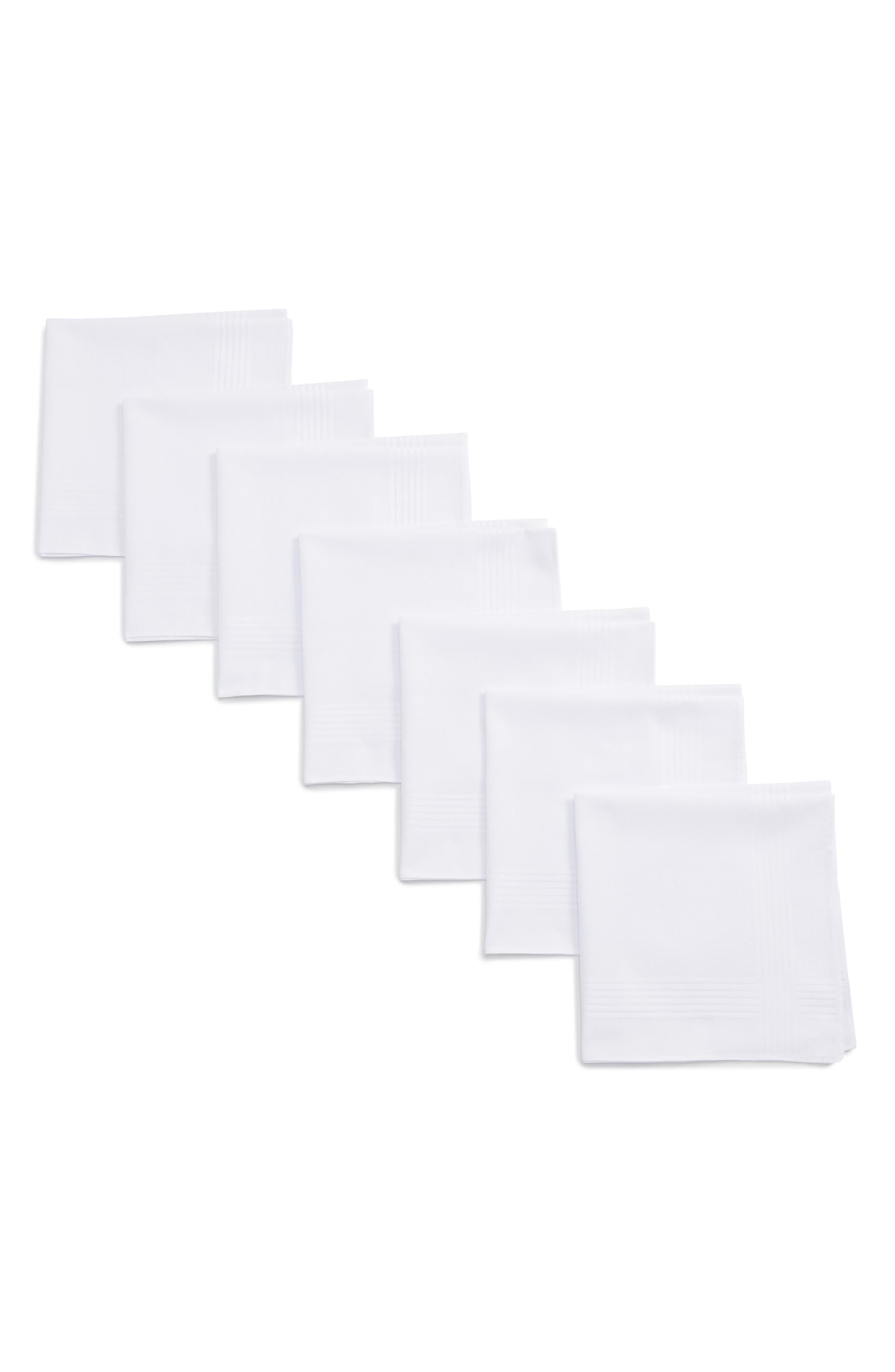 7-Pack Handkerchiefs,                             Main thumbnail 1, color,