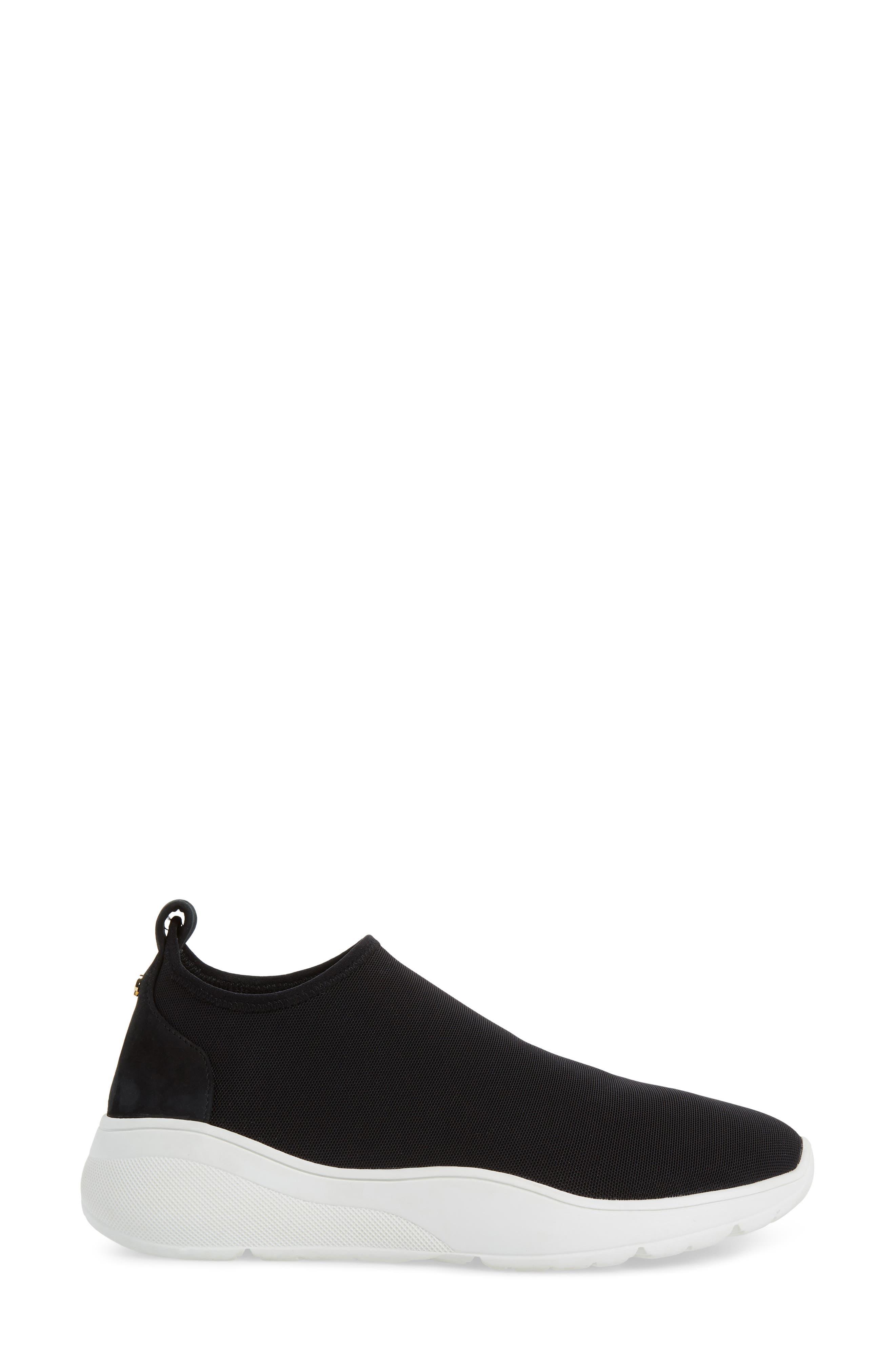 KATE SPADE NEW YORK,                             bradlee slip-on sneaker,                             Alternate thumbnail 3, color,                             001