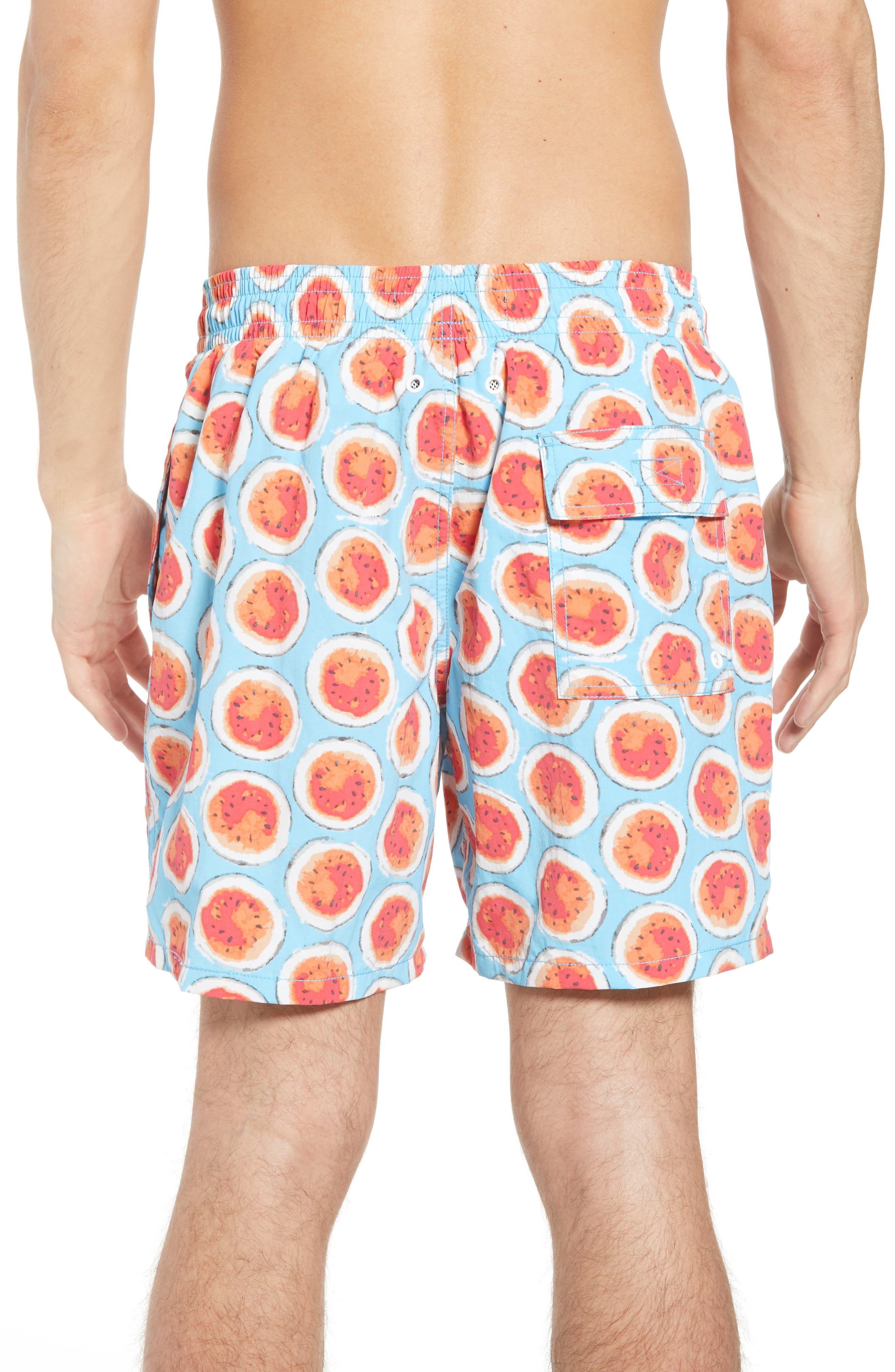 Denniston Regular Fit Swim Trunks,                             Alternate thumbnail 2, color,                             439