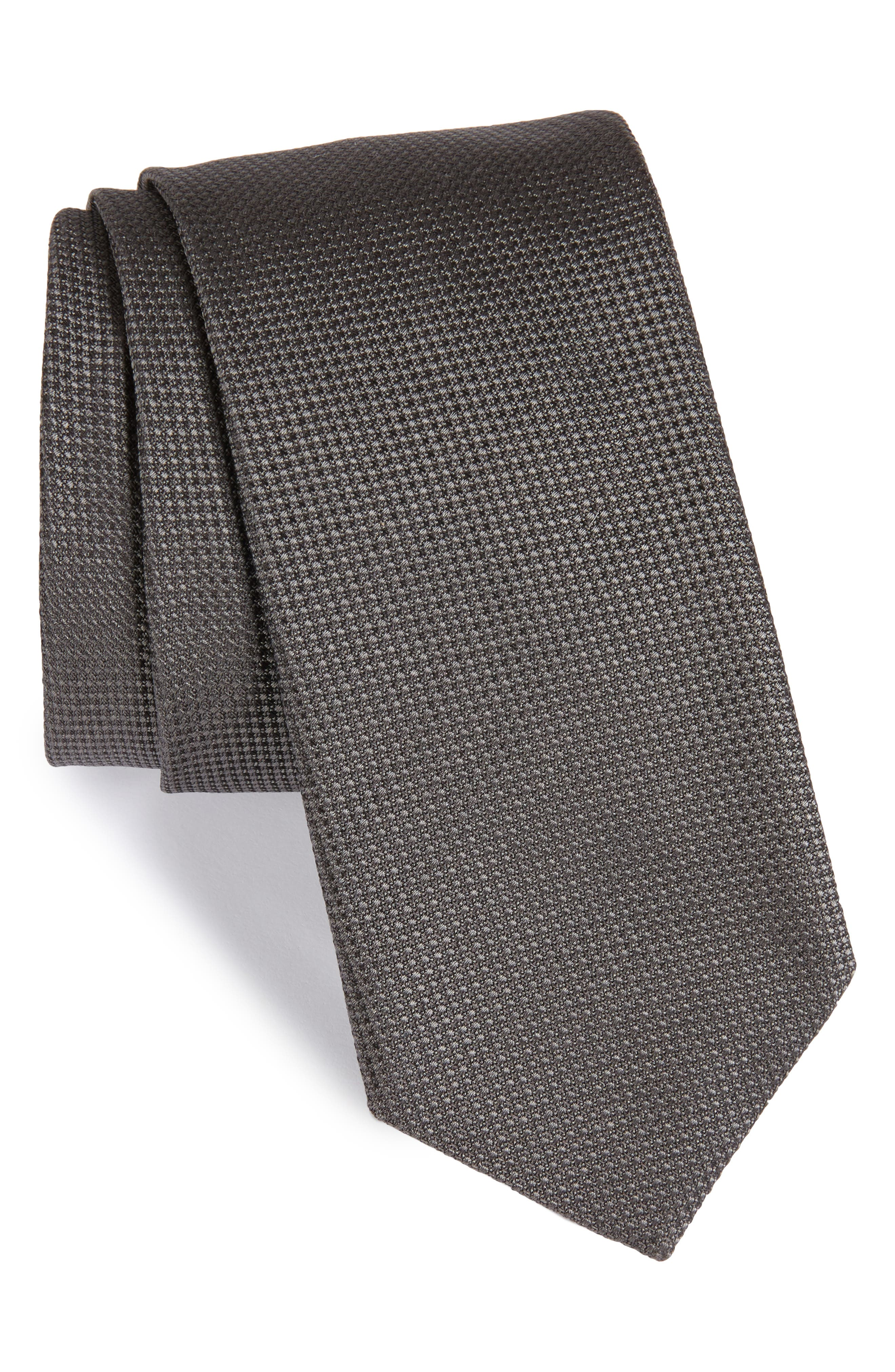 Solid Silk Tie,                             Main thumbnail 1, color,                             062
