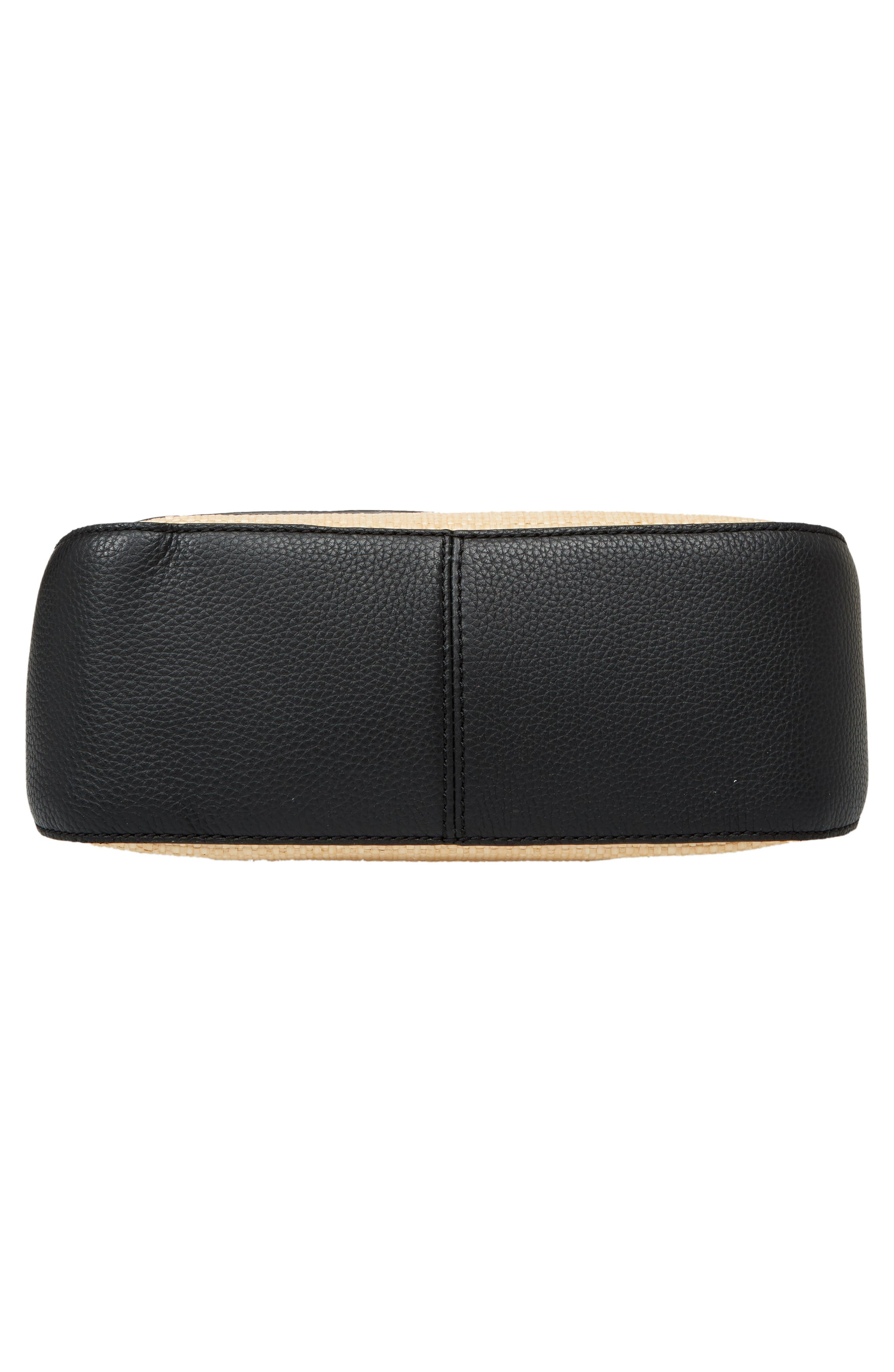 KATE SPADE NEW YORK,                             jackson street - colette straw & leather satchel,                             Alternate thumbnail 6, color,                             257