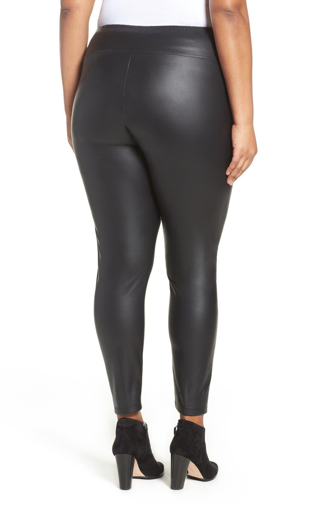 Sadi Coated Skinny Pants,                             Alternate thumbnail 2, color,