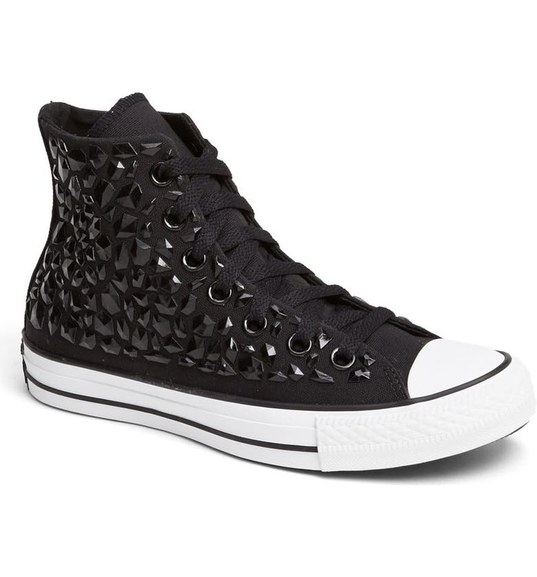 3a1e4c15d02 Converse Chuck Taylor® All Star®  Rhinestone  High Top Sneaker ...
