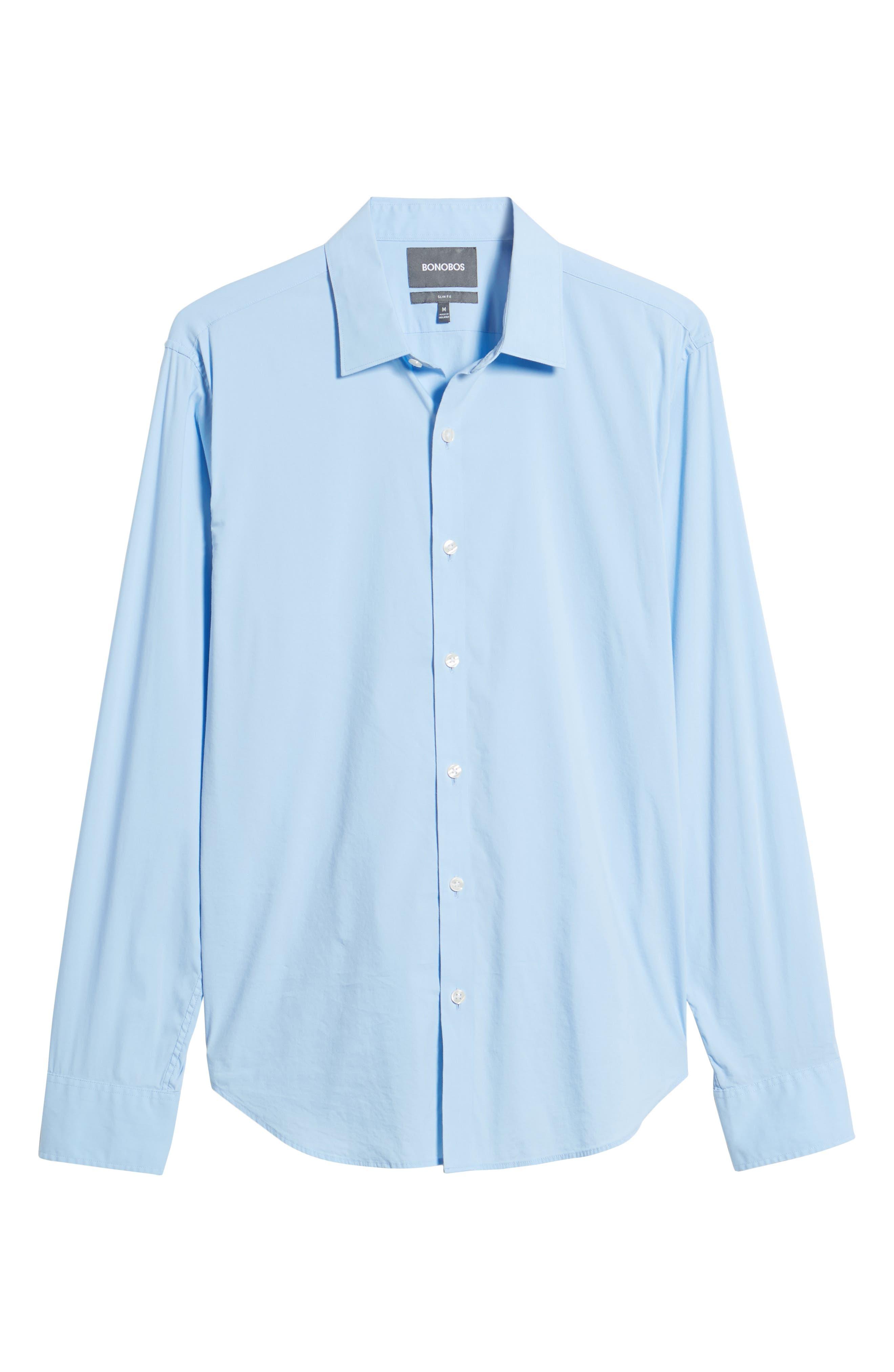 Unbutton Down 2.0 Slim Fit Sport Shirt,                             Alternate thumbnail 23, color,