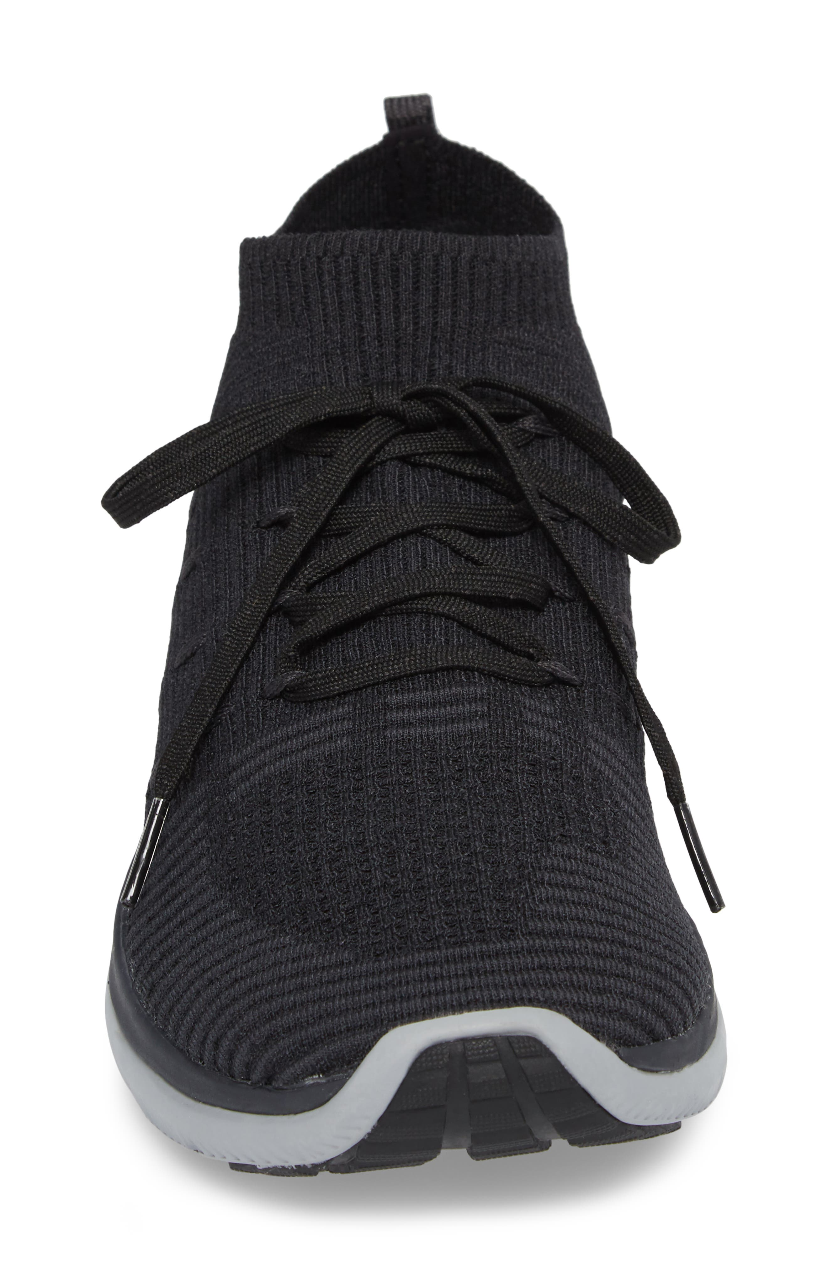 Slingflex Rise Sneaker,                             Alternate thumbnail 4, color,                             BLACK / ANTHRACITE / BLACK