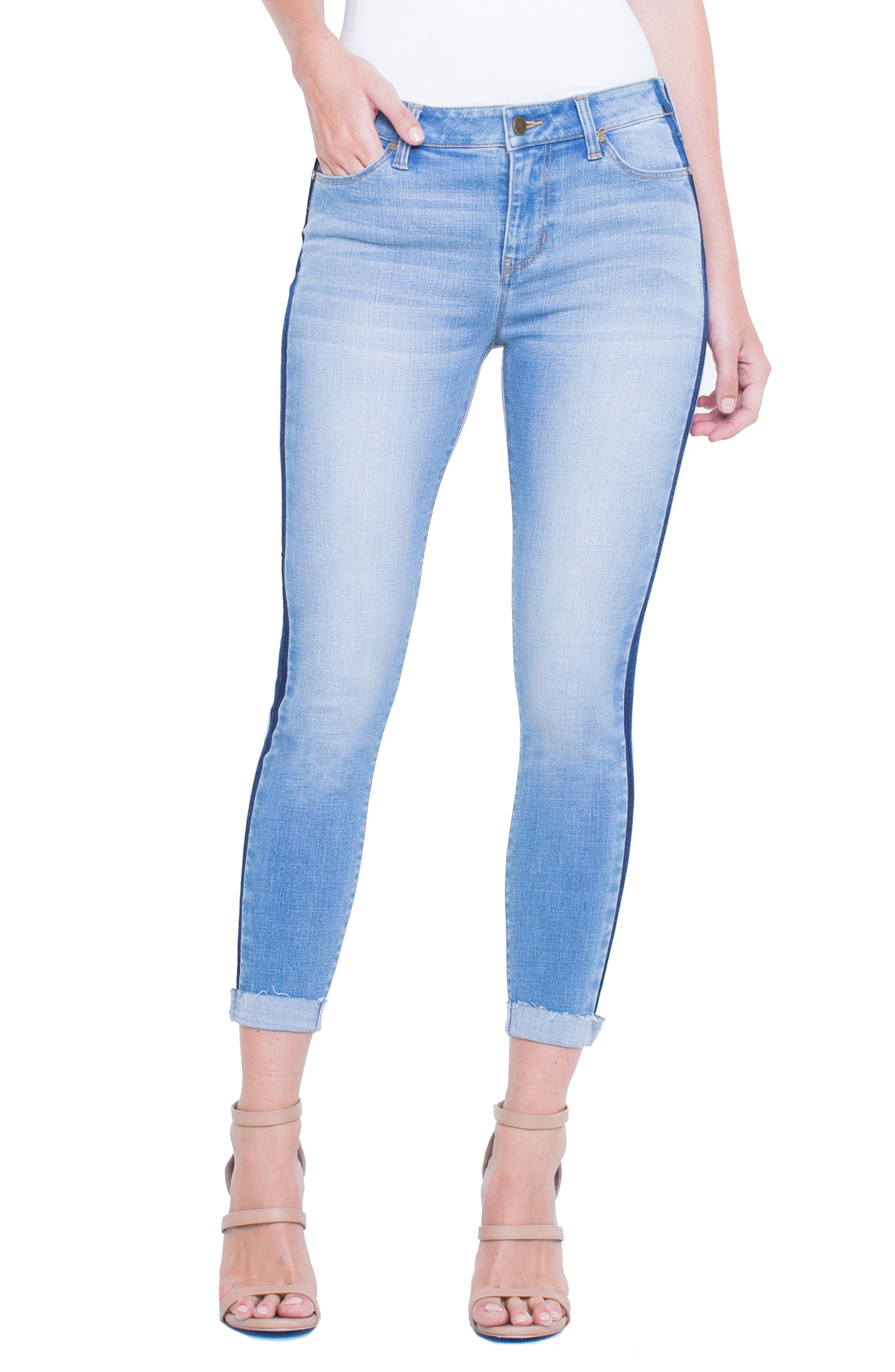 Colton Crop Skinny Jeans,                             Alternate thumbnail 4, color,
