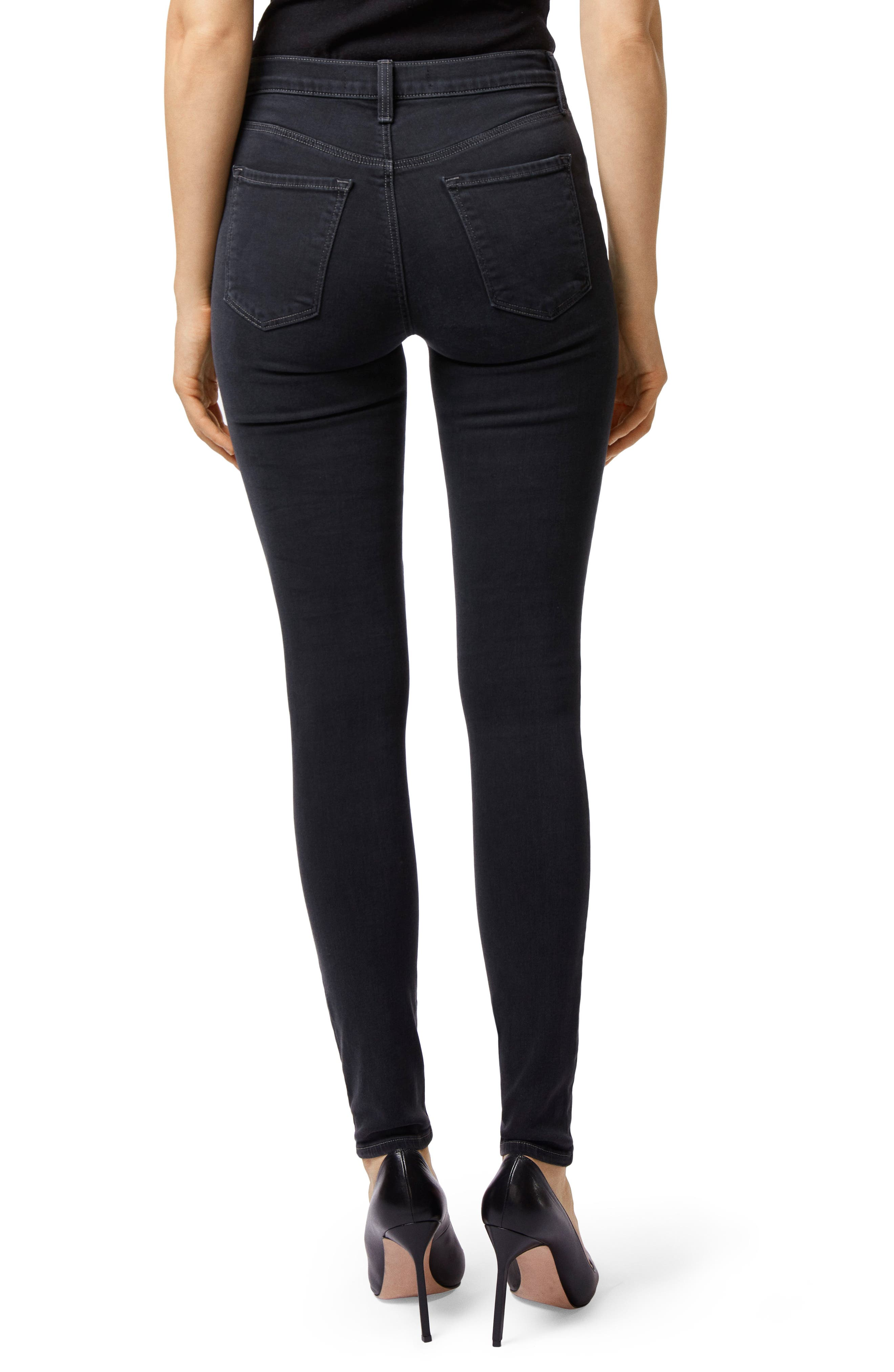 Maria High Waist Skinny Jeans,                             Alternate thumbnail 2, color,                             002