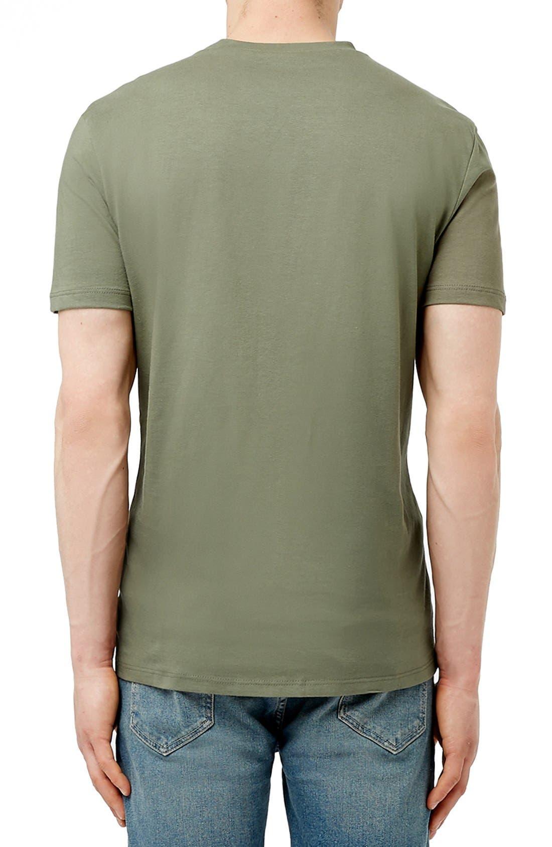 Slim Fit Crewneck T-Shirt,                             Alternate thumbnail 245, color,