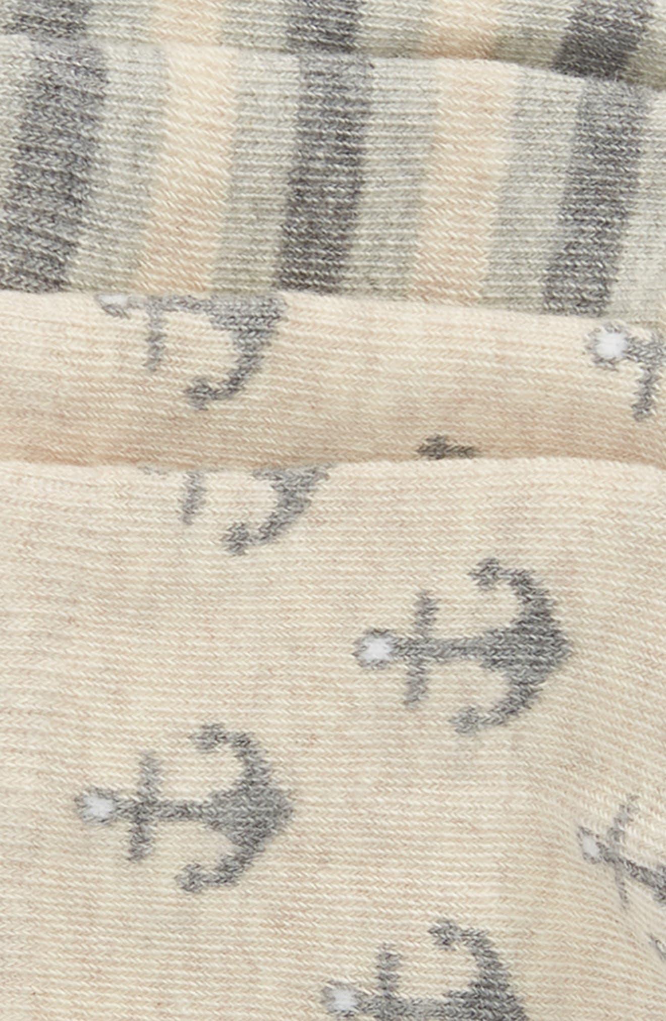 2-Pack Anchors Away No-Show Socks,                             Alternate thumbnail 3, color,