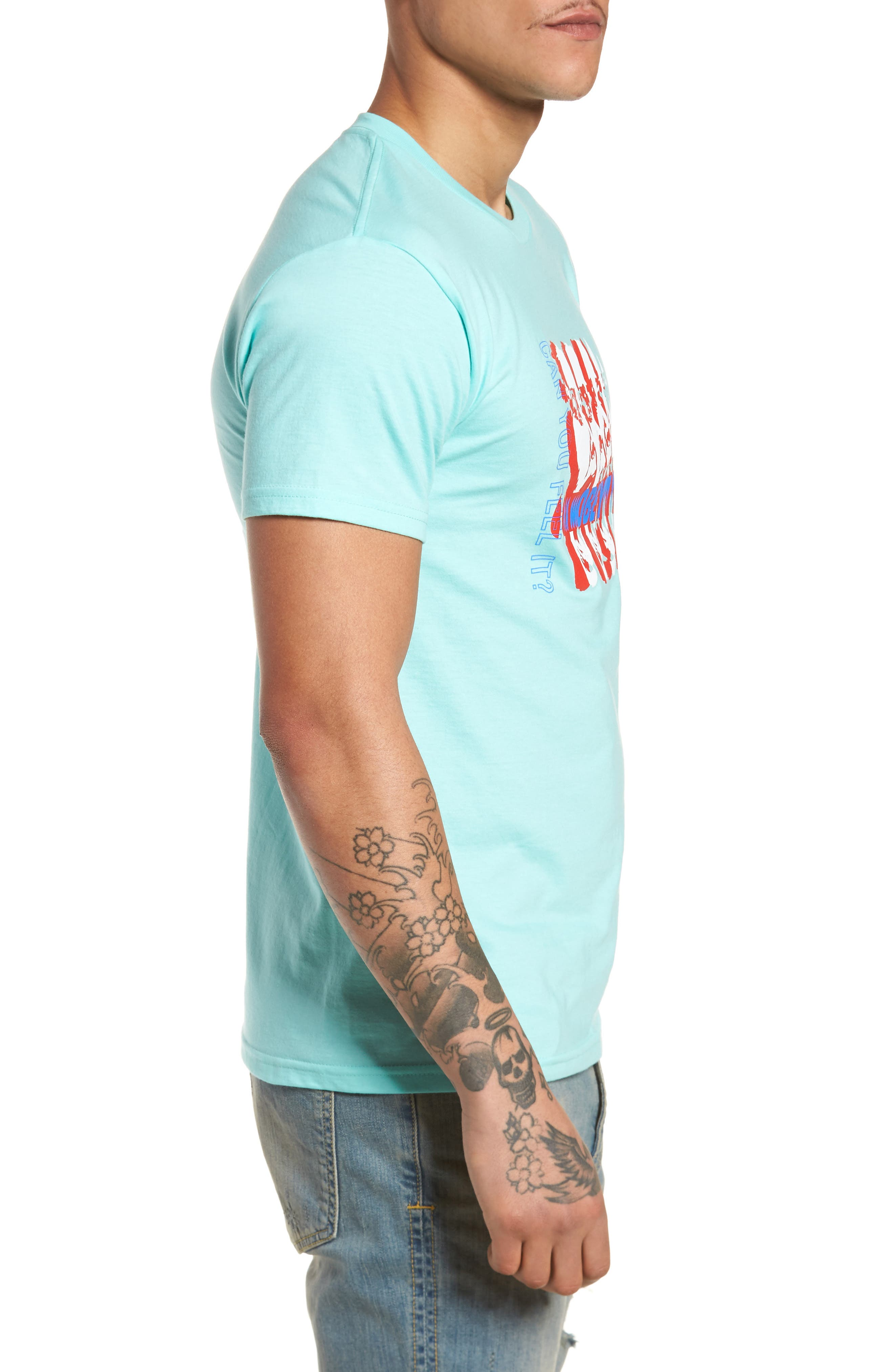 Can You Feel It Premium T-Shirt,                             Alternate thumbnail 3, color,                             450