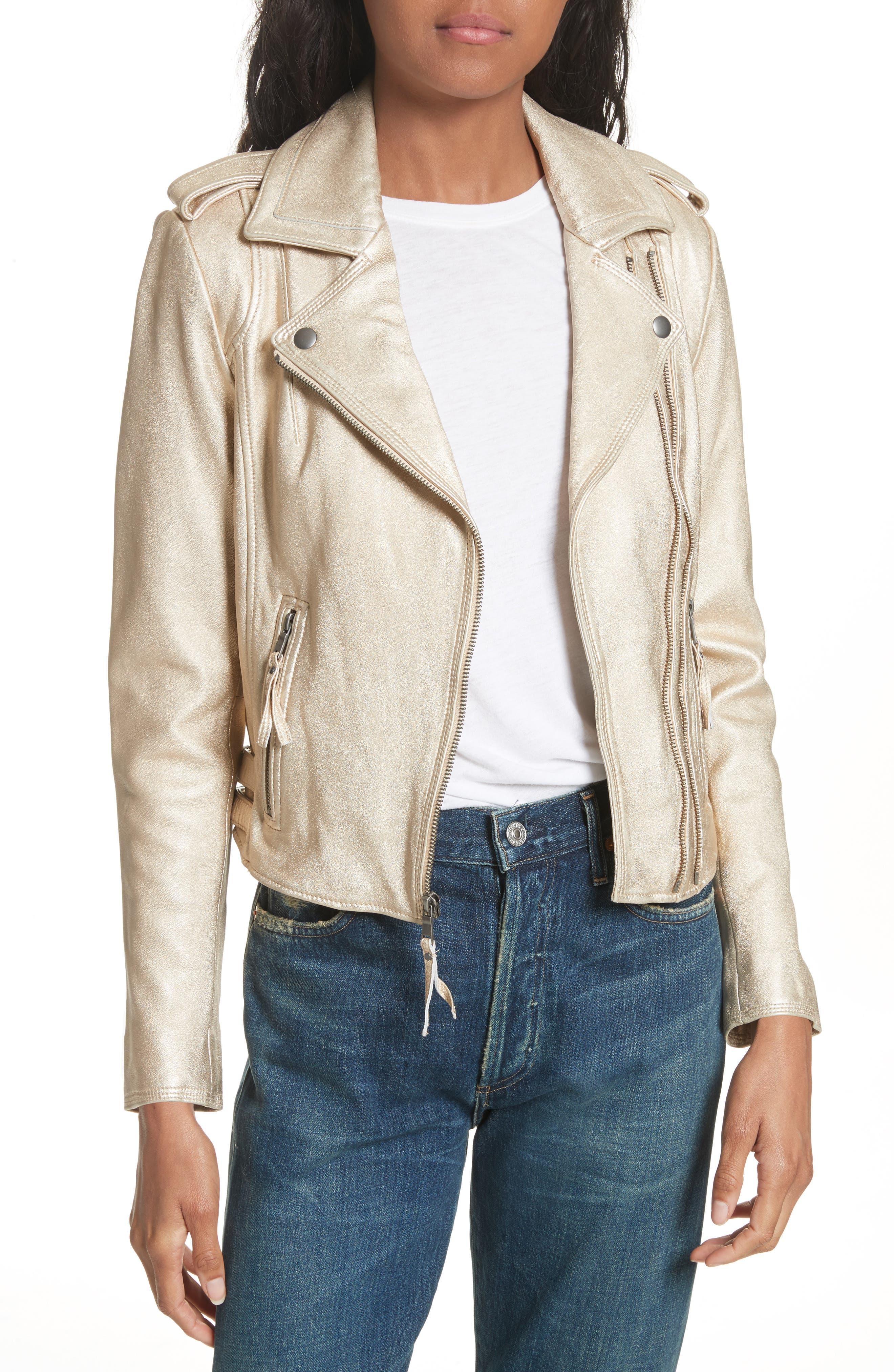 Leolani Leather Jacket,                             Main thumbnail 2, color,